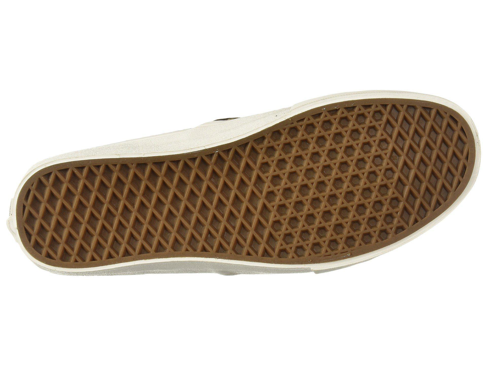 edc94fd07b Lyst - Vans Slip-on Sf ((hemp) Leopard  18) Skate Shoes