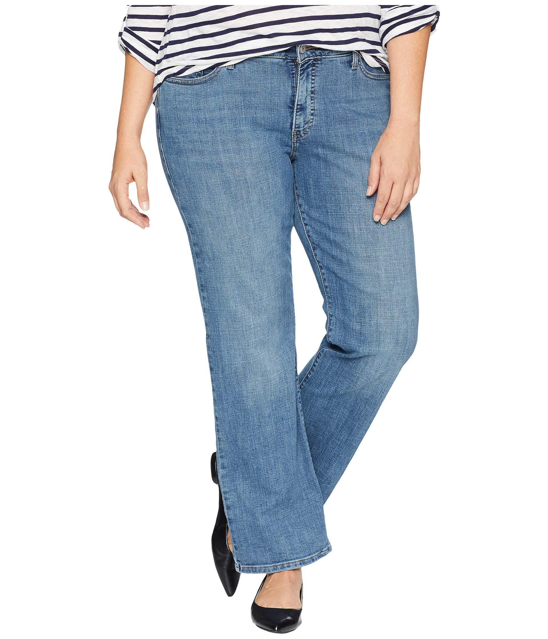 6395cd0d24d Levi s. Blue Levi s(r) Plus 415 Classic Bootcut (island Rinse) Women s Jeans