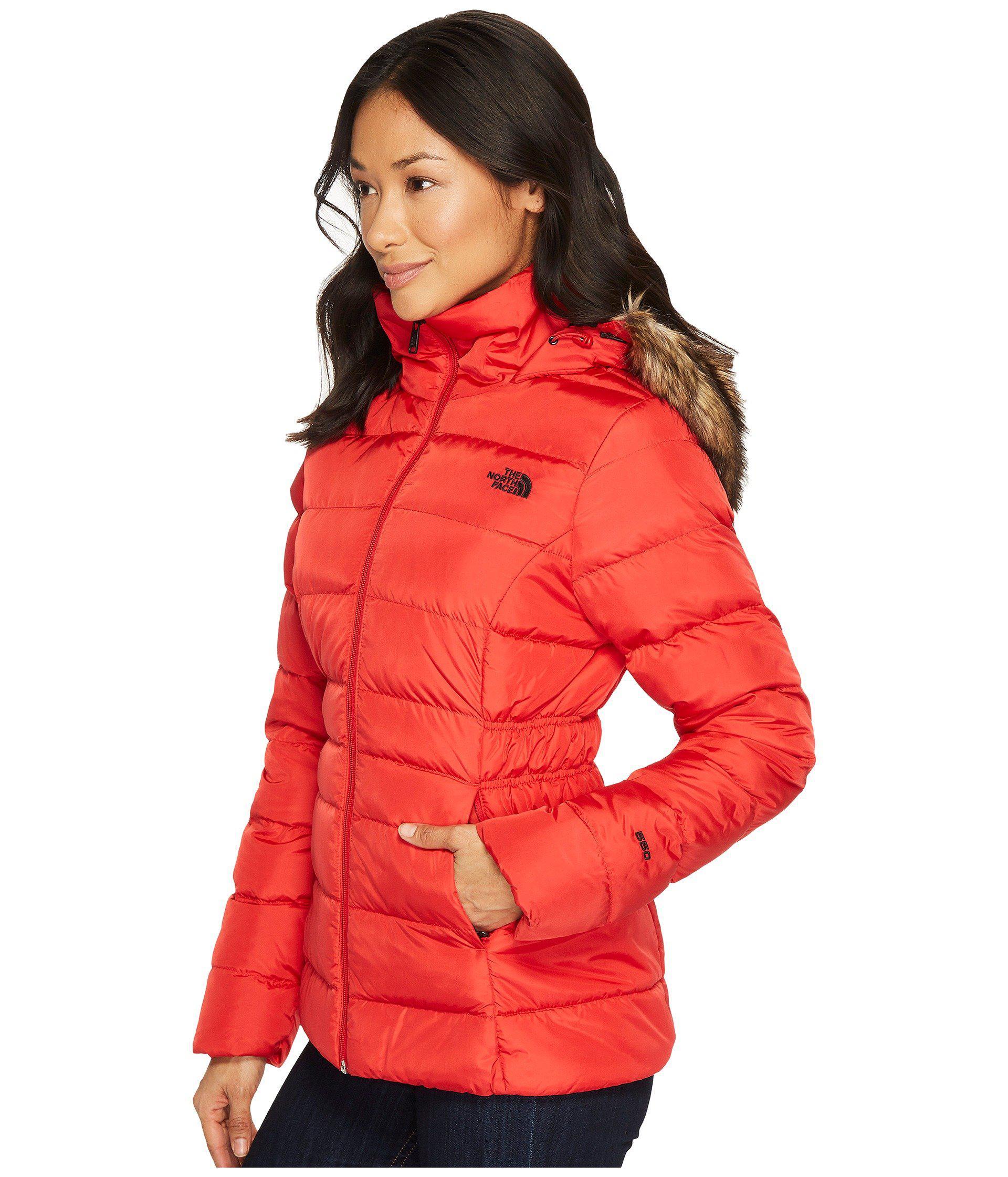 849c29ff8d Lyst - The North Face Gotham Jacket Ii (metallic Copper) Women s Coat in Red