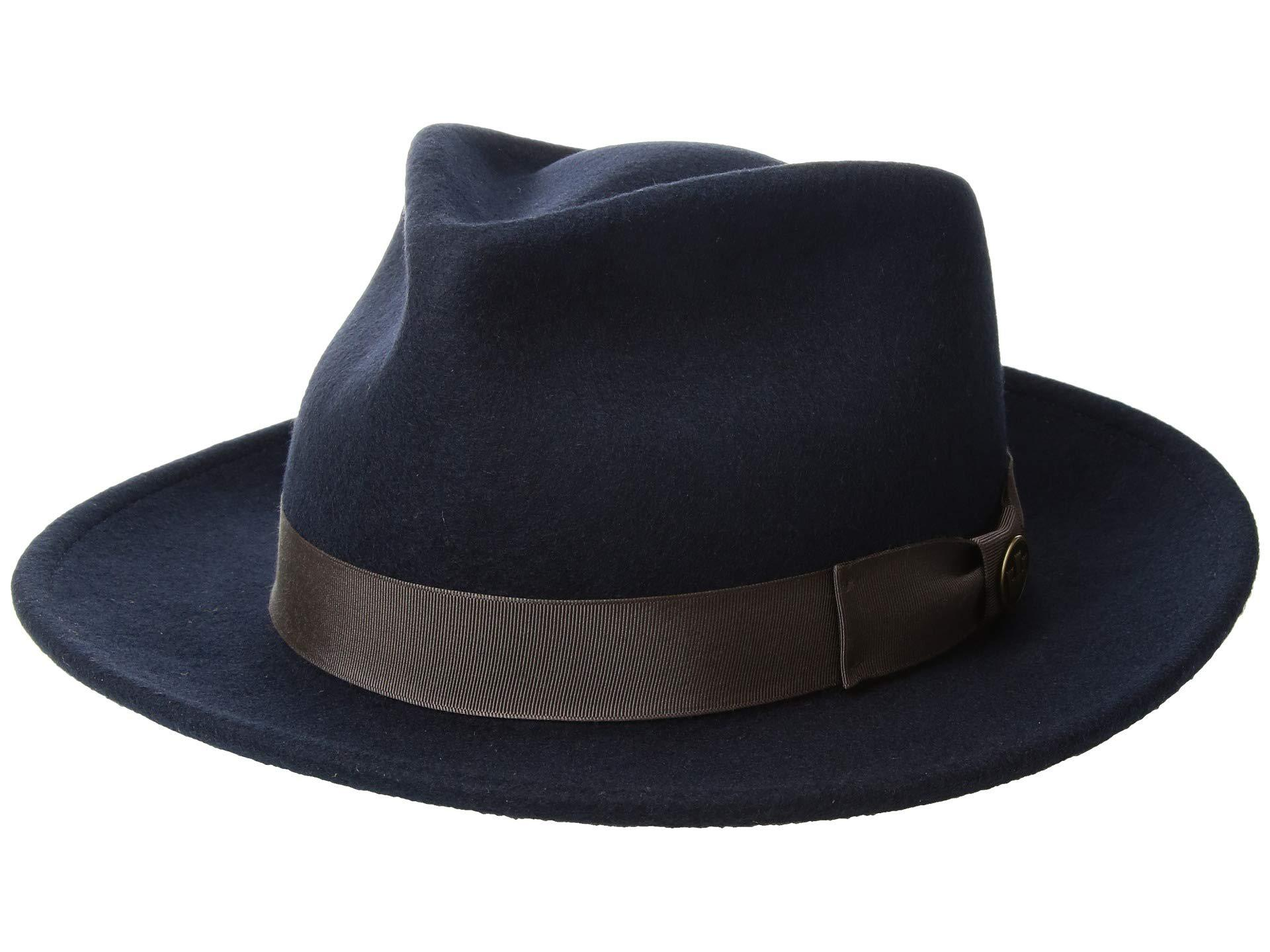 2f829c7690 Goorin Bros The Saloon in Blue for Men - Lyst