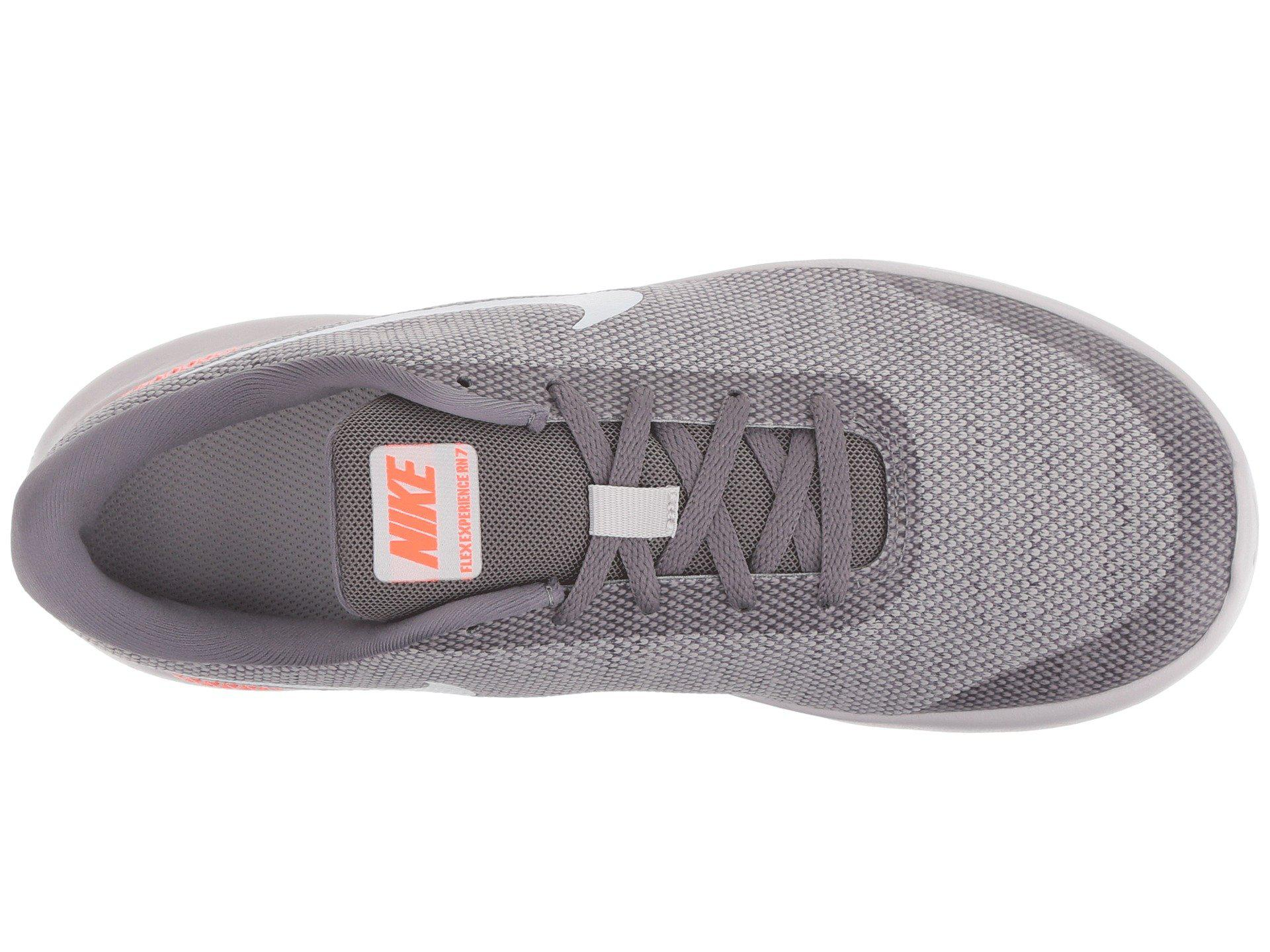5815d8d70417 Lyst - Nike Flex Experience Rn 7 (football Grey volt white) Men s ...