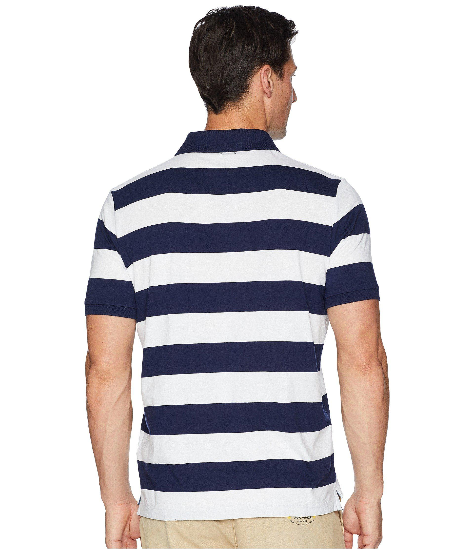 4f1f5b36 Polo Ralph Lauren Classic Fit Yarn-dyed Striped Knit Polo in Blue ...