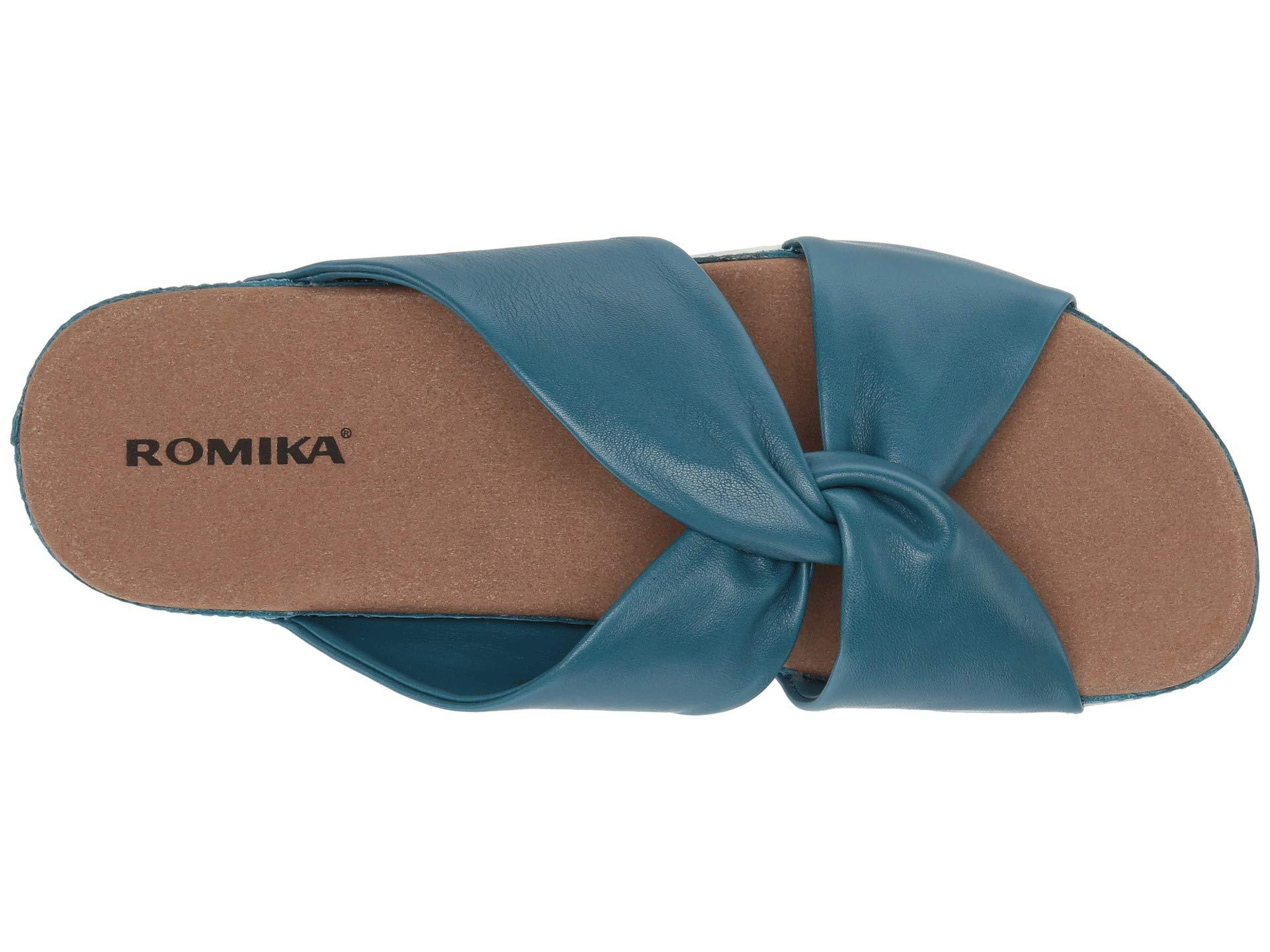 0c8815c3c71c Romika - Blue Florenz 10 (black) Women s Slide Shoes - Lyst. View fullscreen