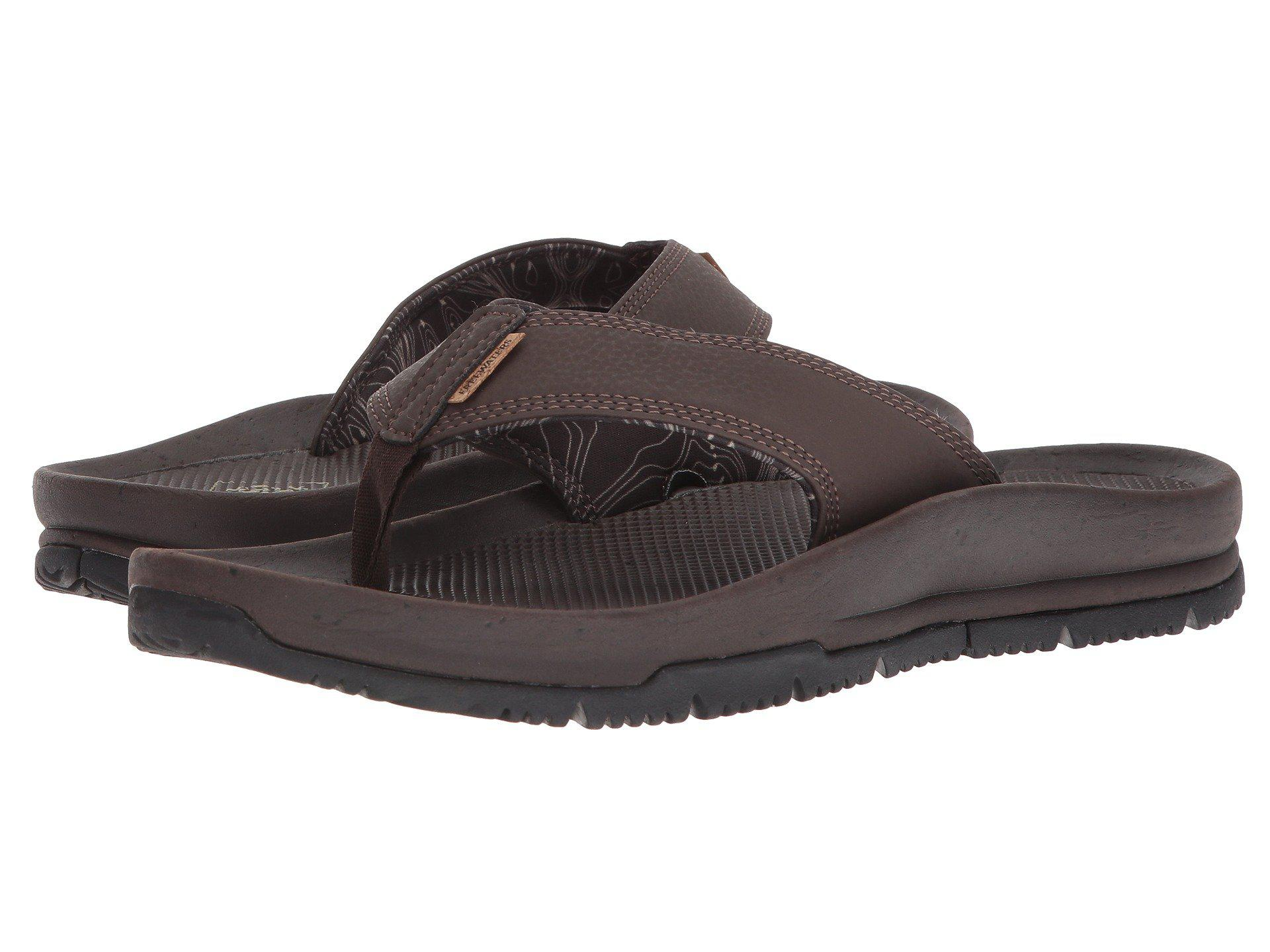 117c42dd82a Lyst - Freewaters Magic Carpet (black) Men s Sandals in Brown for ...