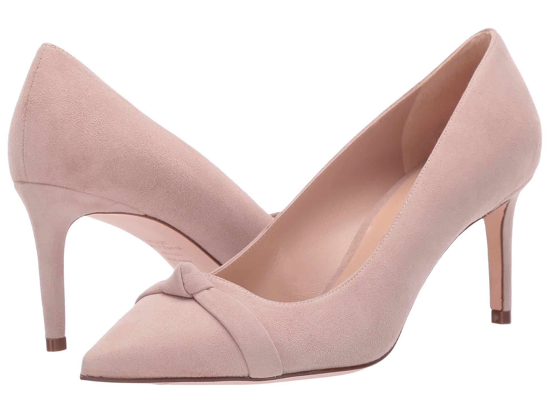 54b727718 Stuart Weitzman Fontaine (black Suede) Women's Shoes in Pink - Lyst