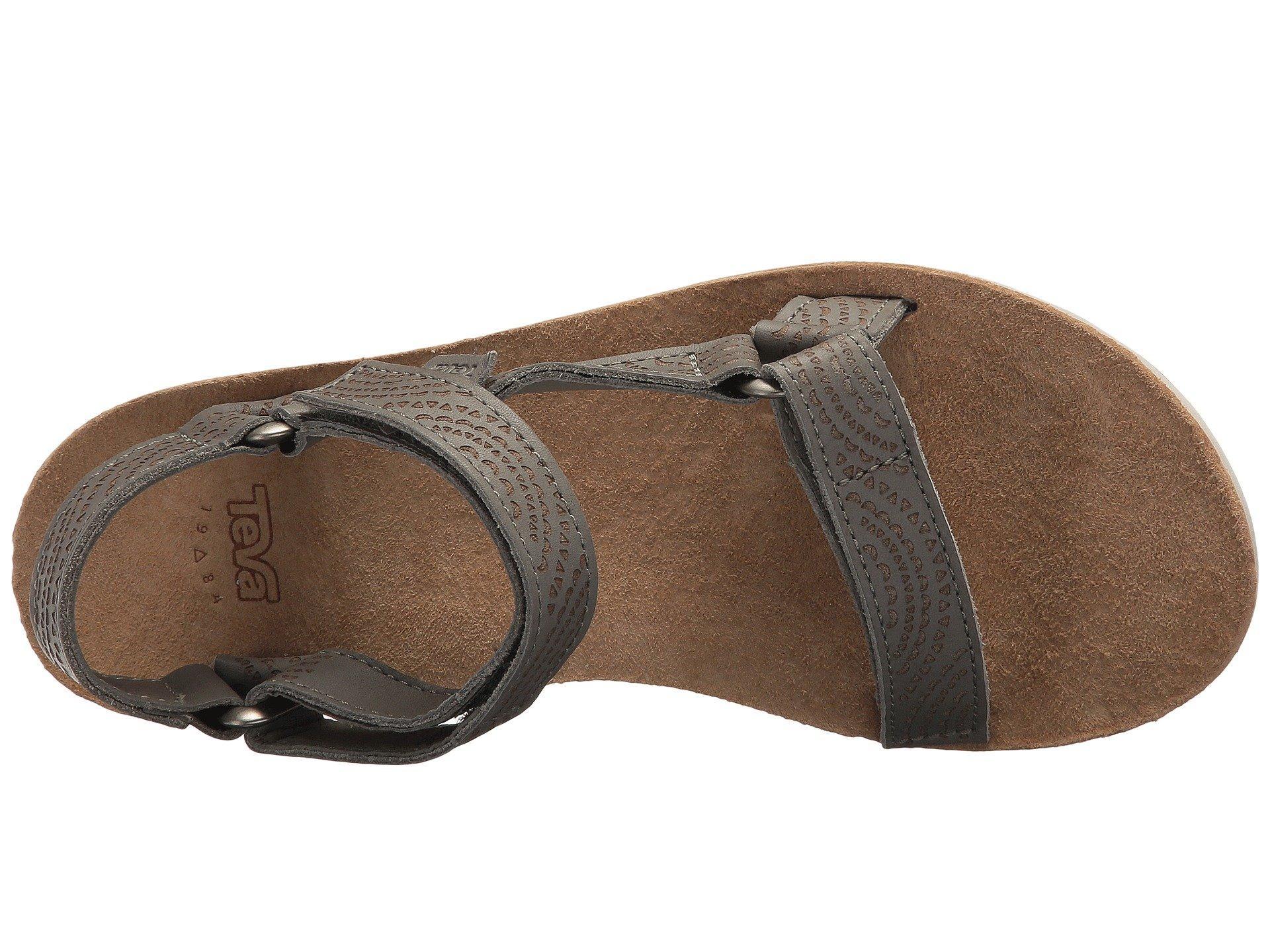 09086328a23c Teva - Multicolor Midform Universal Geometric (tan) Women s Shoes - Lyst.  View fullscreen