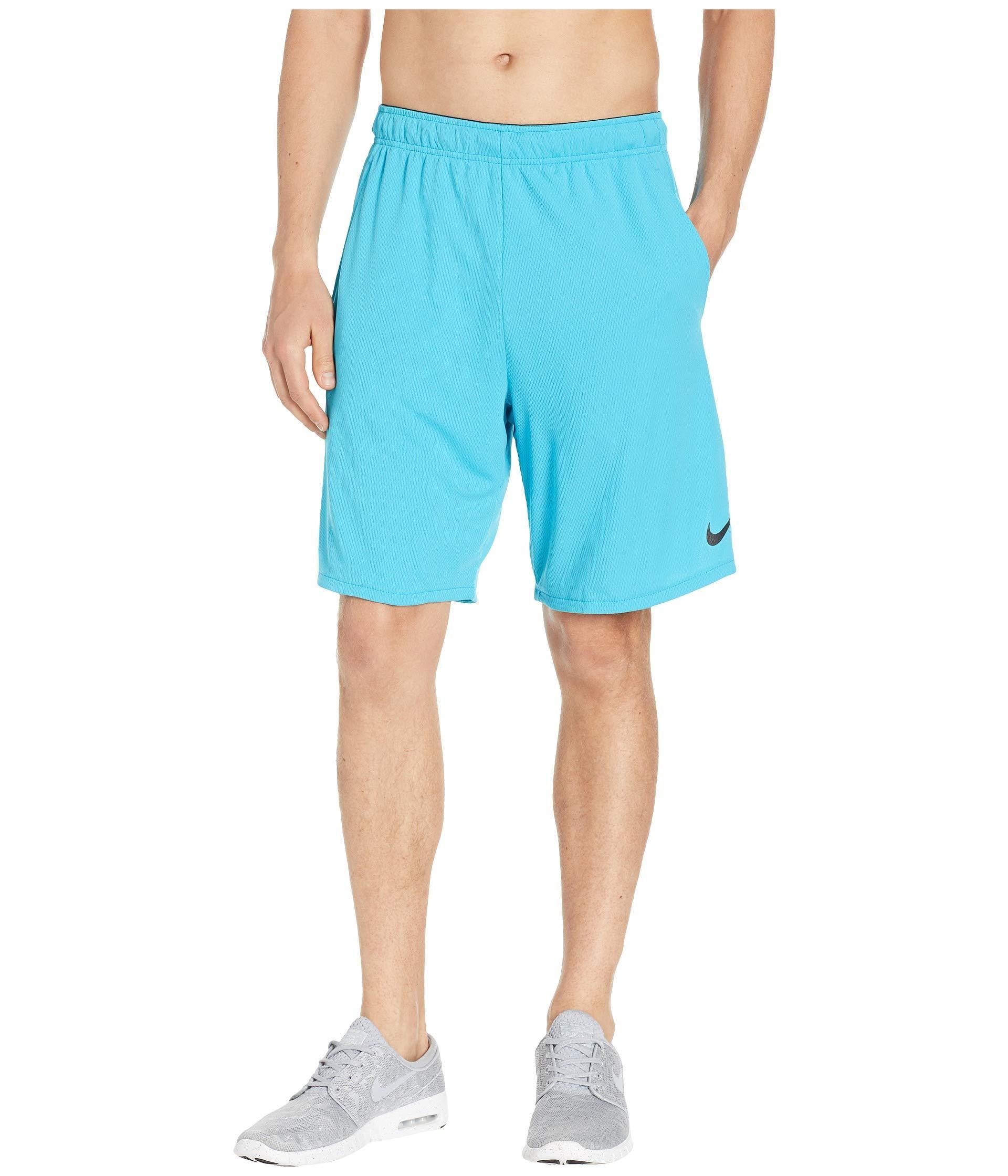 5f128c809e Lyst - Nike Dri-fit 9 Training Short (black/dark Grey) Men's Shorts ...