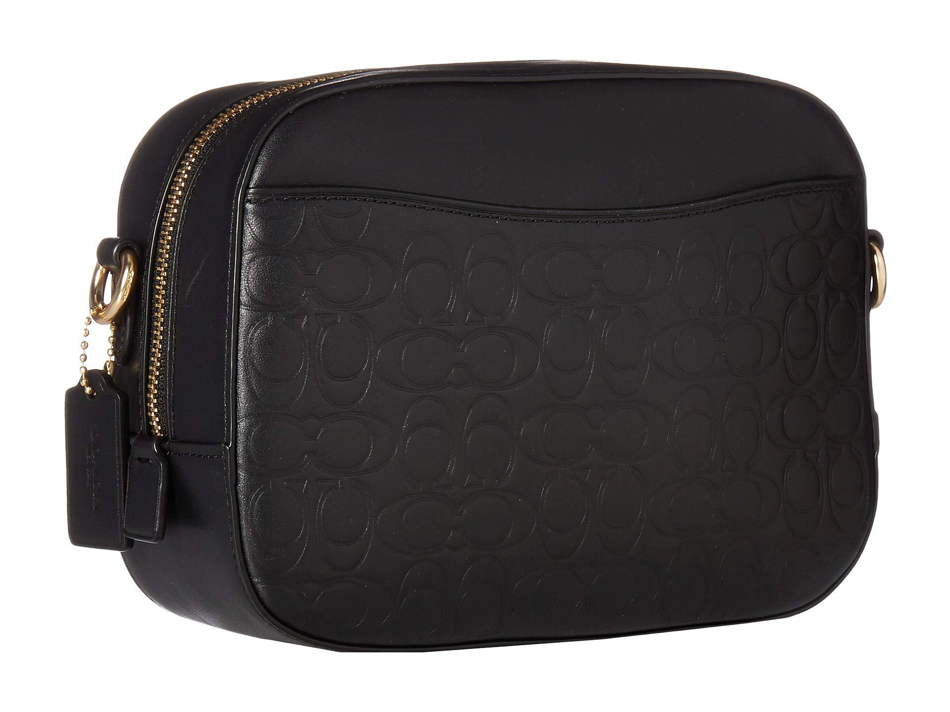 COACH - Signature Leather Camera Bag (gold black) Bags - Lyst. View  fullscreen a82249923d23d