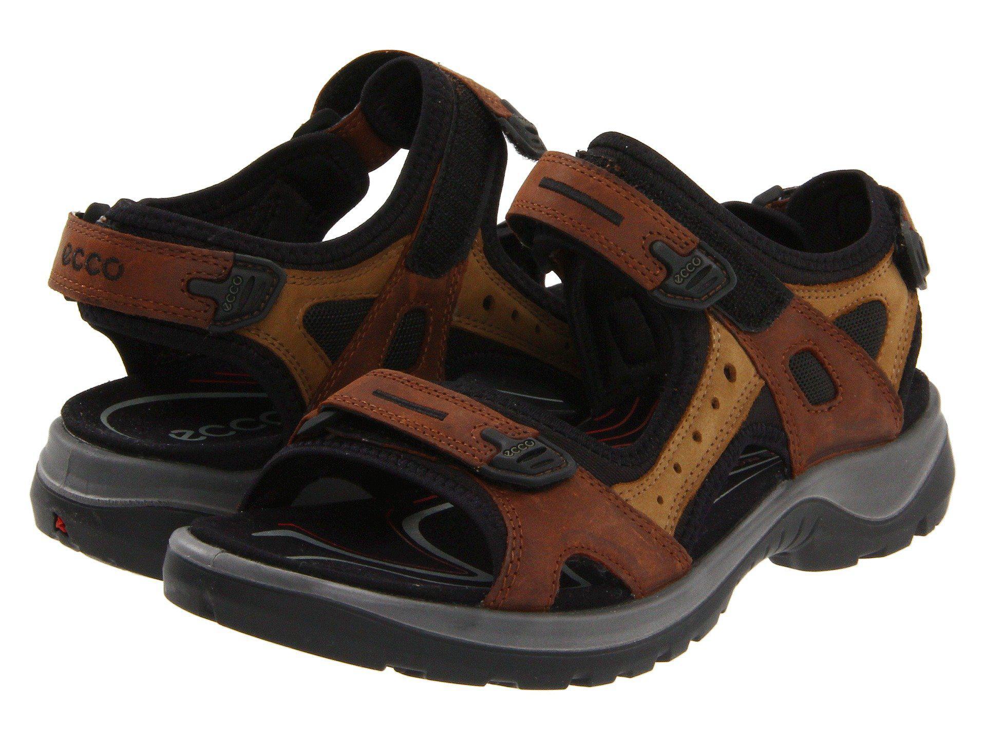 3bdb9b463e62 Lyst - Ecco Yucatan Sandal (stone) Women s Sandals in Brown