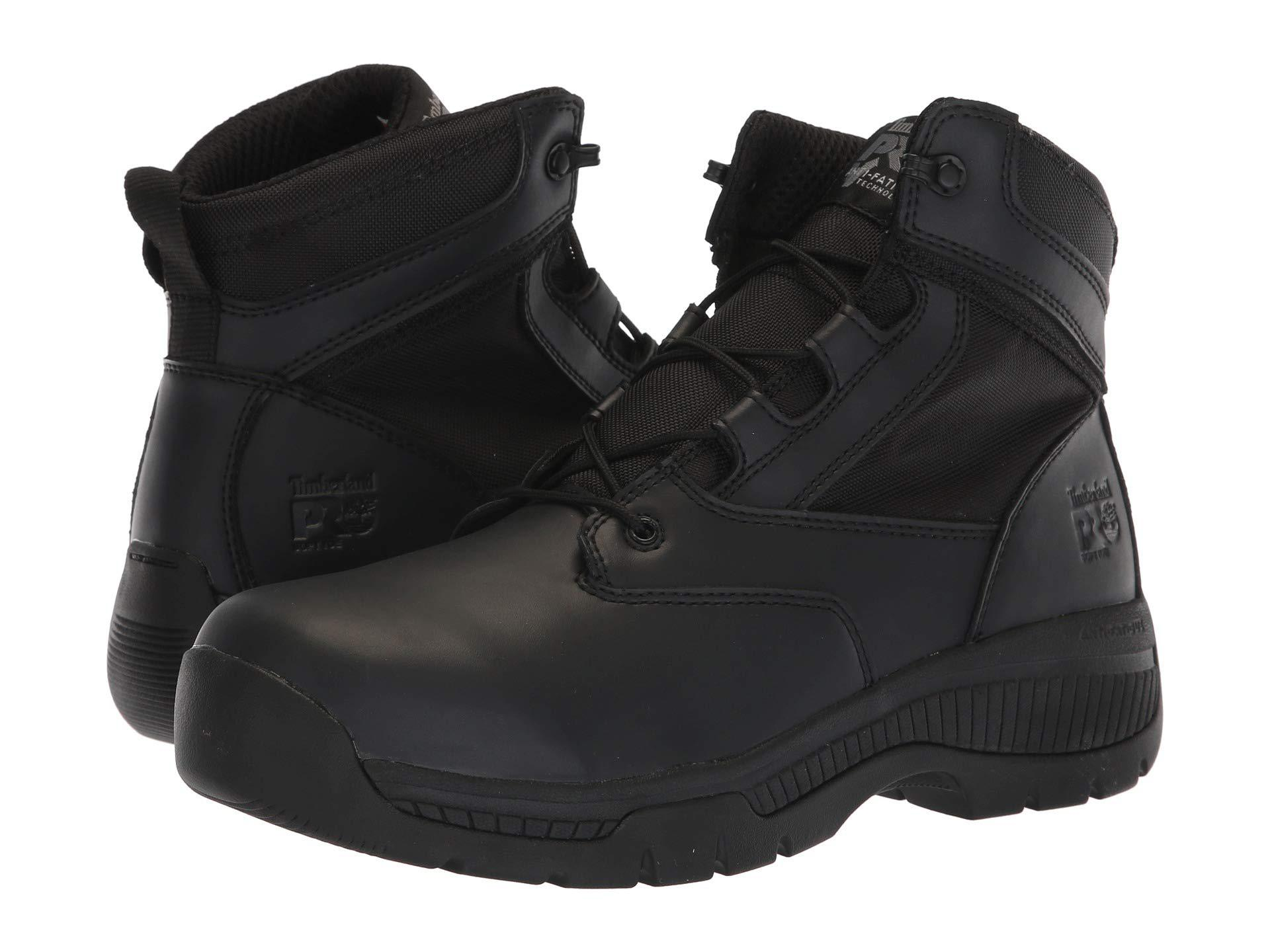 92129c37f43 Lyst - Timberland Valor Duty 6 Soft Toe (black) Men's Work Boots in ...