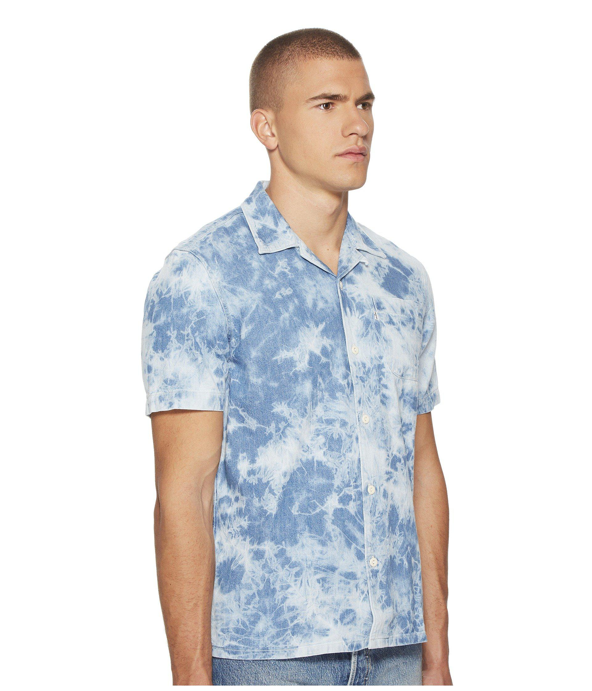 af5c5233a Levi's Premium Premium Short Sleeve Hawaiian Shirt in Blue for Men ...