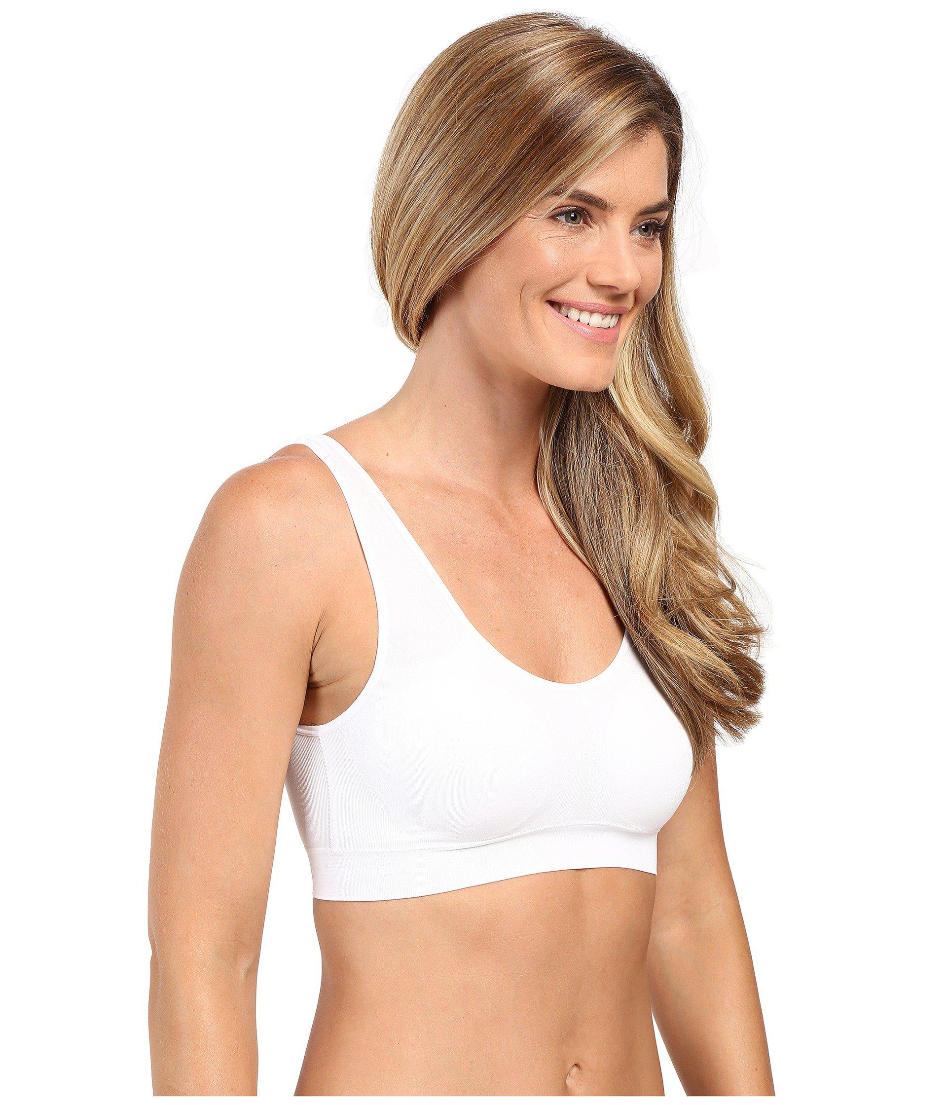 0159cba9512f8 Lyst - Jockey Modern Micro Seamfree(r) Ballet Crop Top (white) Women s  Underwear in White