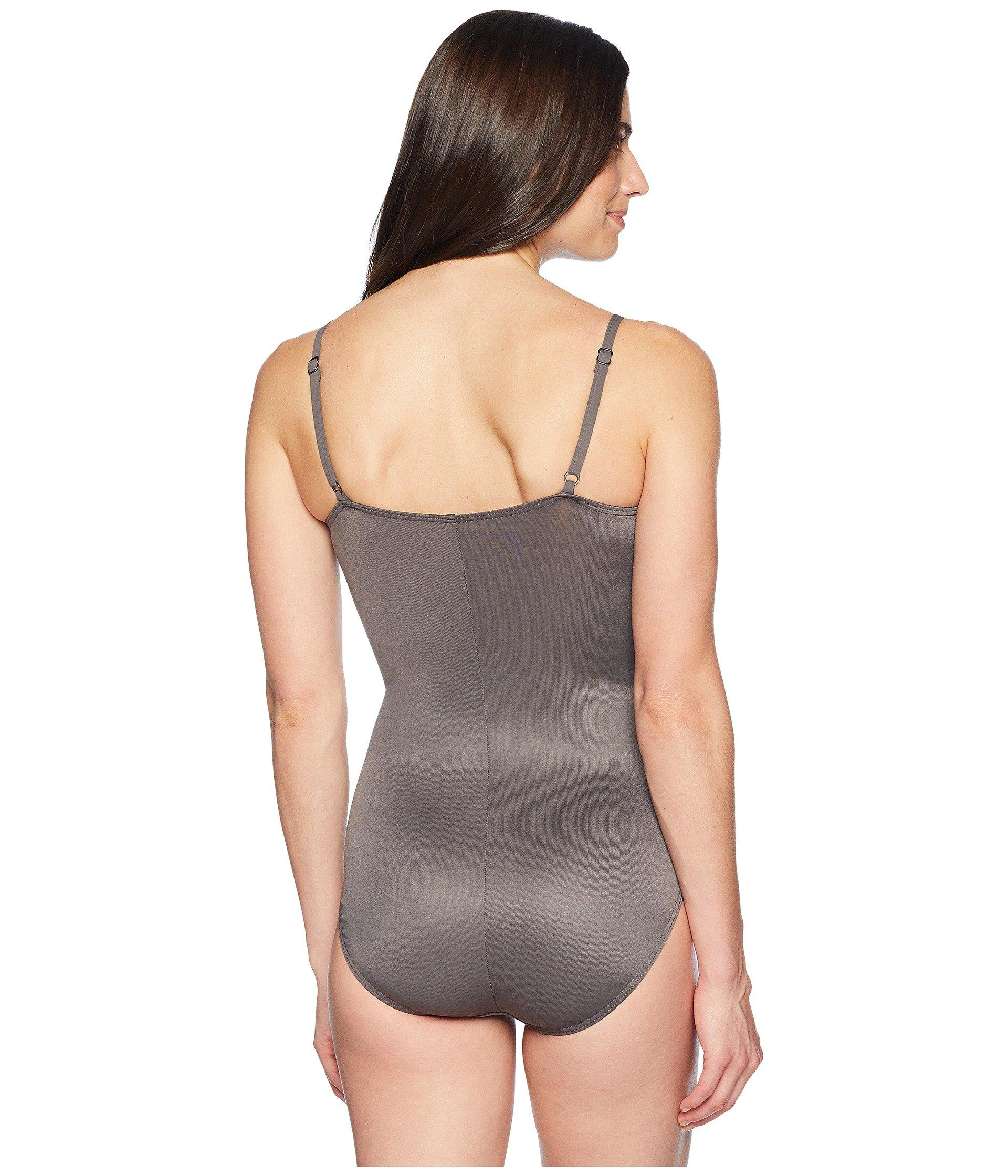 be3e5c3c92ab7 Miraclesuit - Gray Rock Solid Love Knot One-piece (mineral) Women s  Swimsuits One. View fullscreen