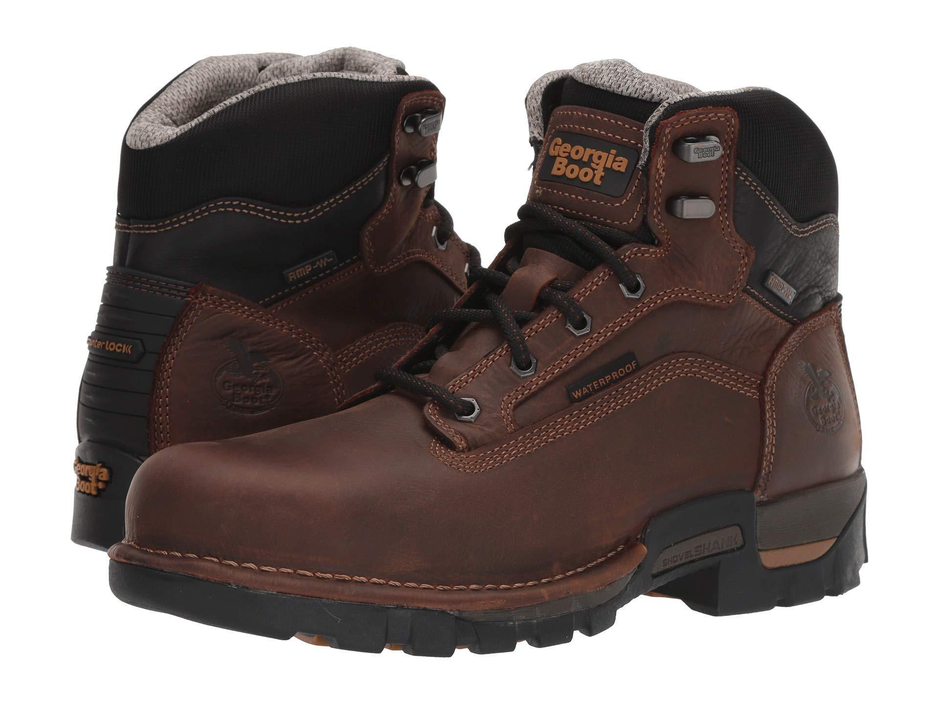 c37633b03c0 Men's Brown 6 Eagle One Steel Toe Waterproof