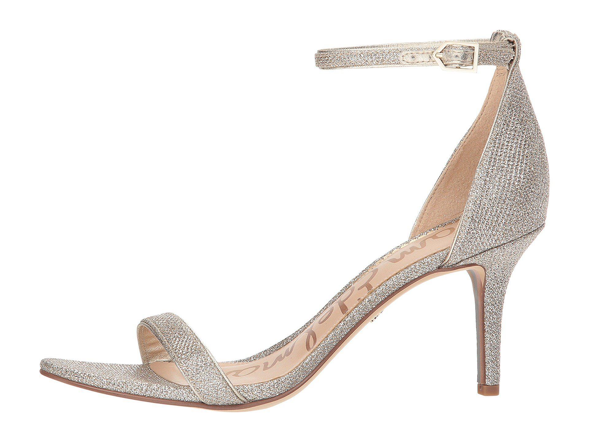 73d393fcc Lyst - Sam Edelman Patti Dress Sandal in Metallic - Save 41%