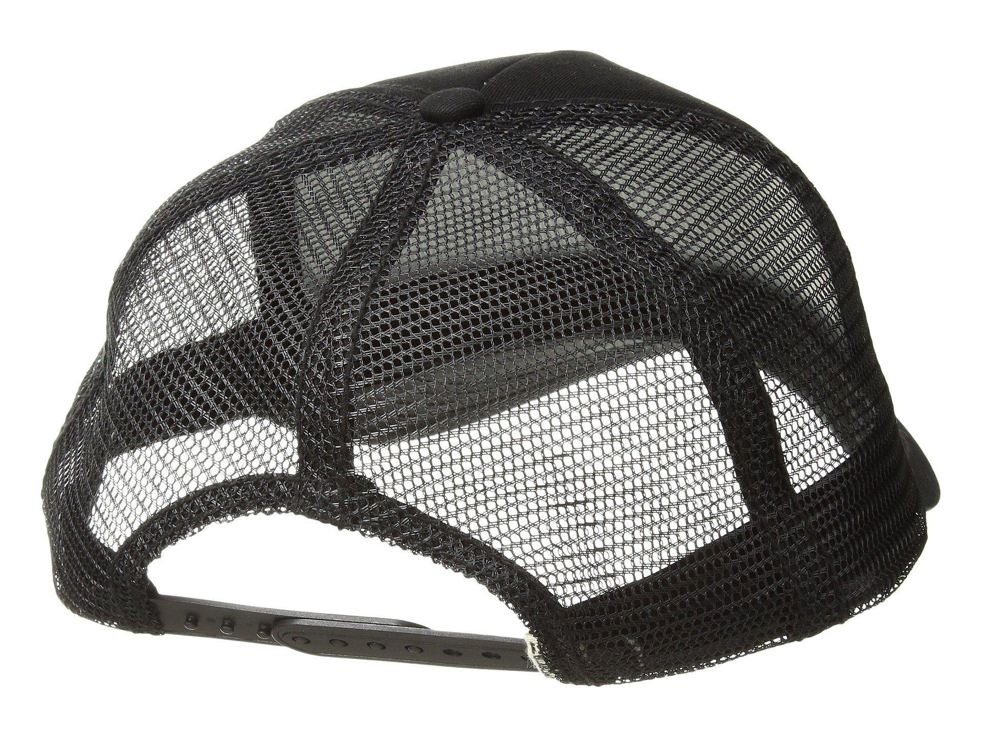 check out 0e8ac 0cd87 ... discount lyst billabong sun your bunz hat geranium caps in black 59282  f321a