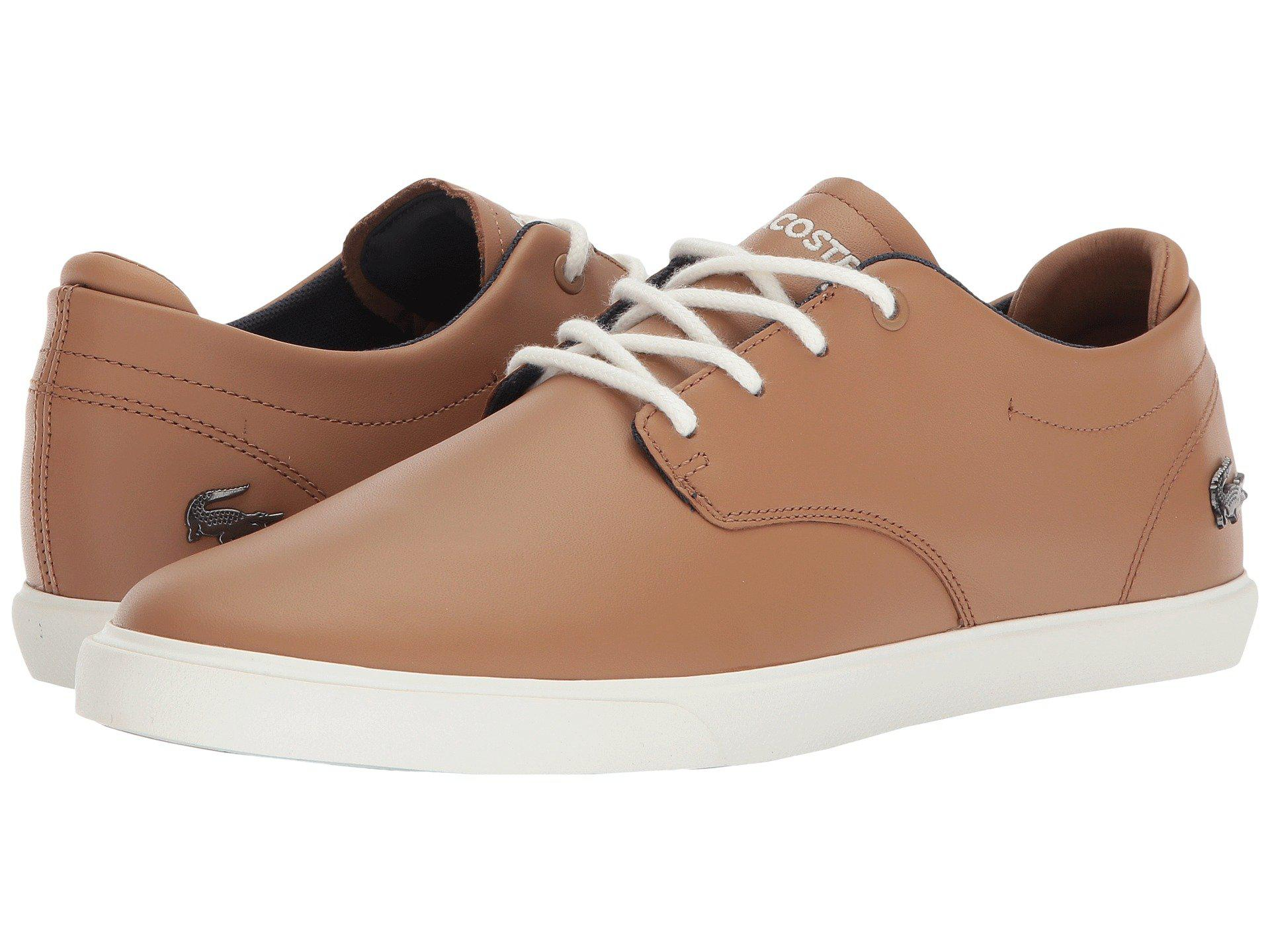 9477ddcfb3ae7 Lyst - Lacoste Esparre 118 1 (khaki off-white) Men s Shoes in Brown ...