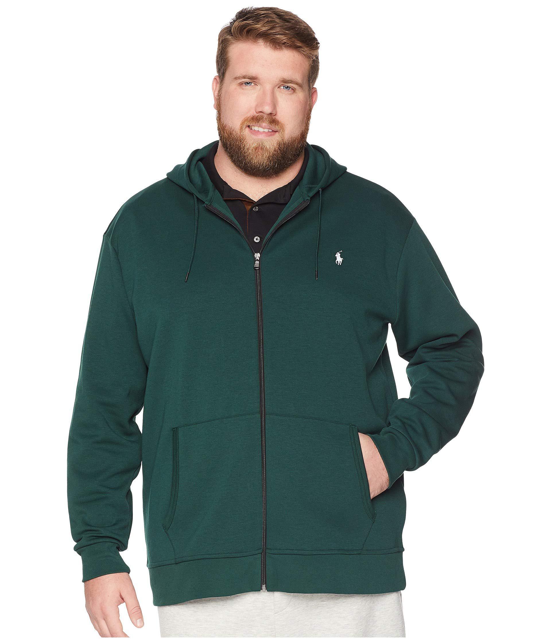 Lyst - Polo Ralph Lauren Big Tall Double Knit Full Zip (college ... 74dbbdbbf