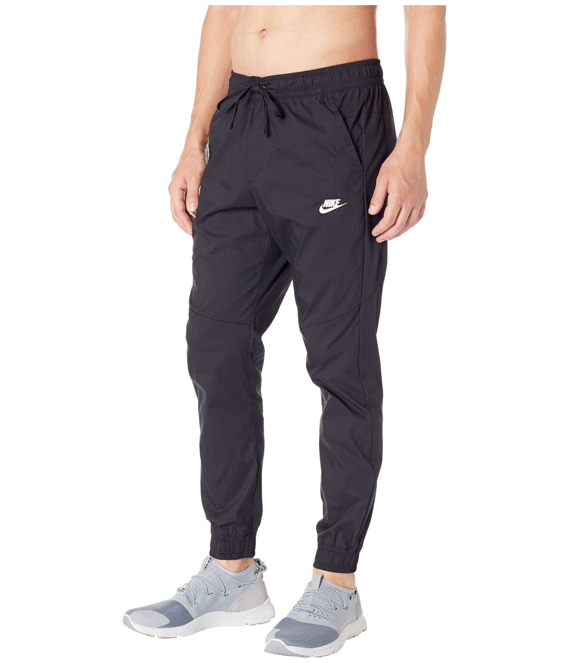 11325b877a57 Lyst - Nike Nsw Jogger Woven Core Street (black white) Men s Casual Pants  in Black for Men