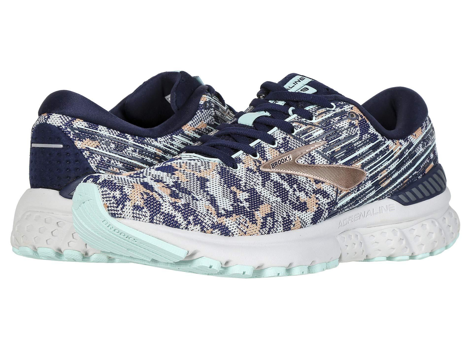 aa834c88945 Brooks - Blue Adrenaline Gts 19 (black purple coral) Women s Running Shoes.  View fullscreen