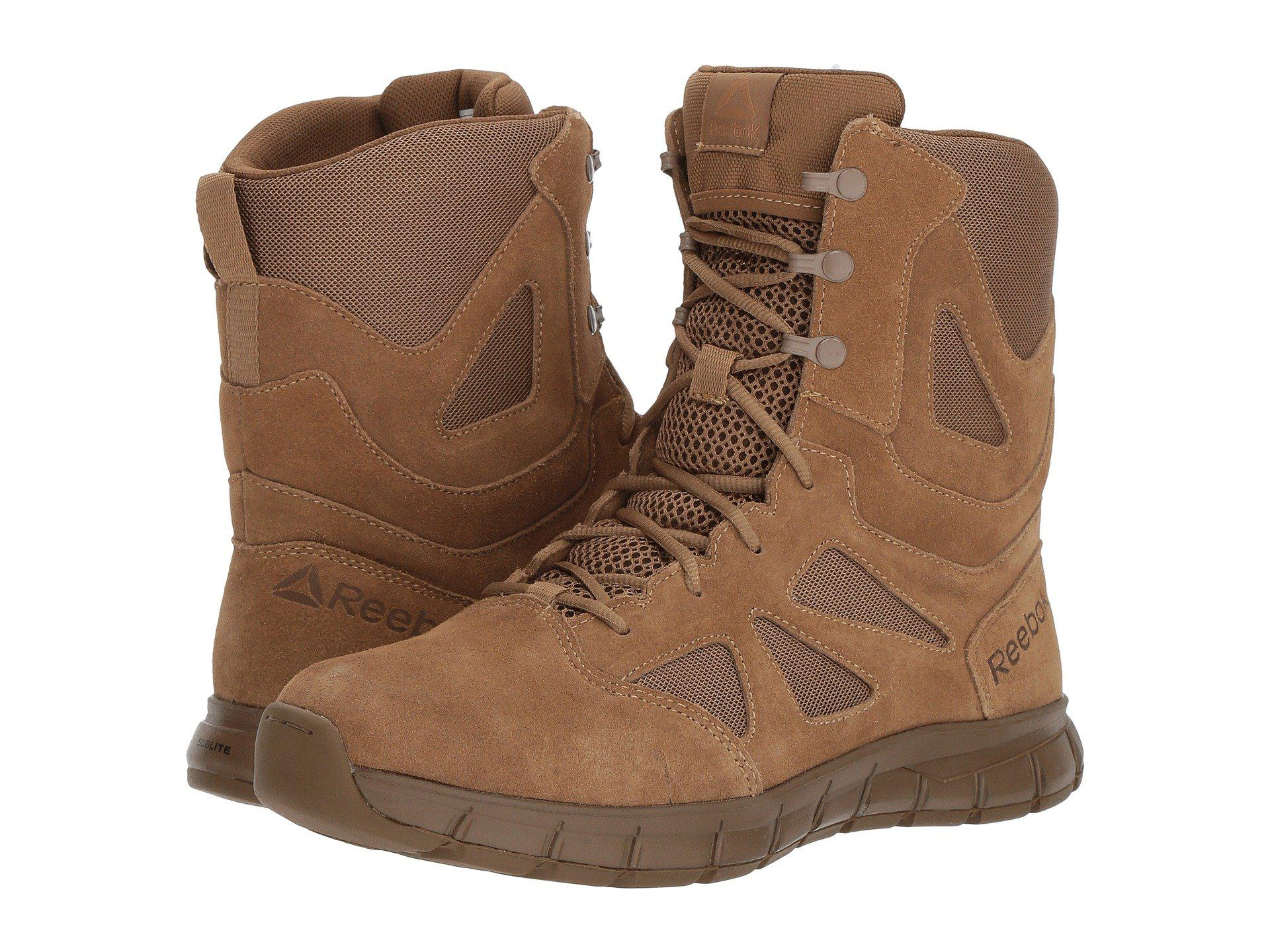 05ed0884fe63 Lyst - Reebok Sublite Cushion Tactical Ar670-1 Compliant (coyote ...