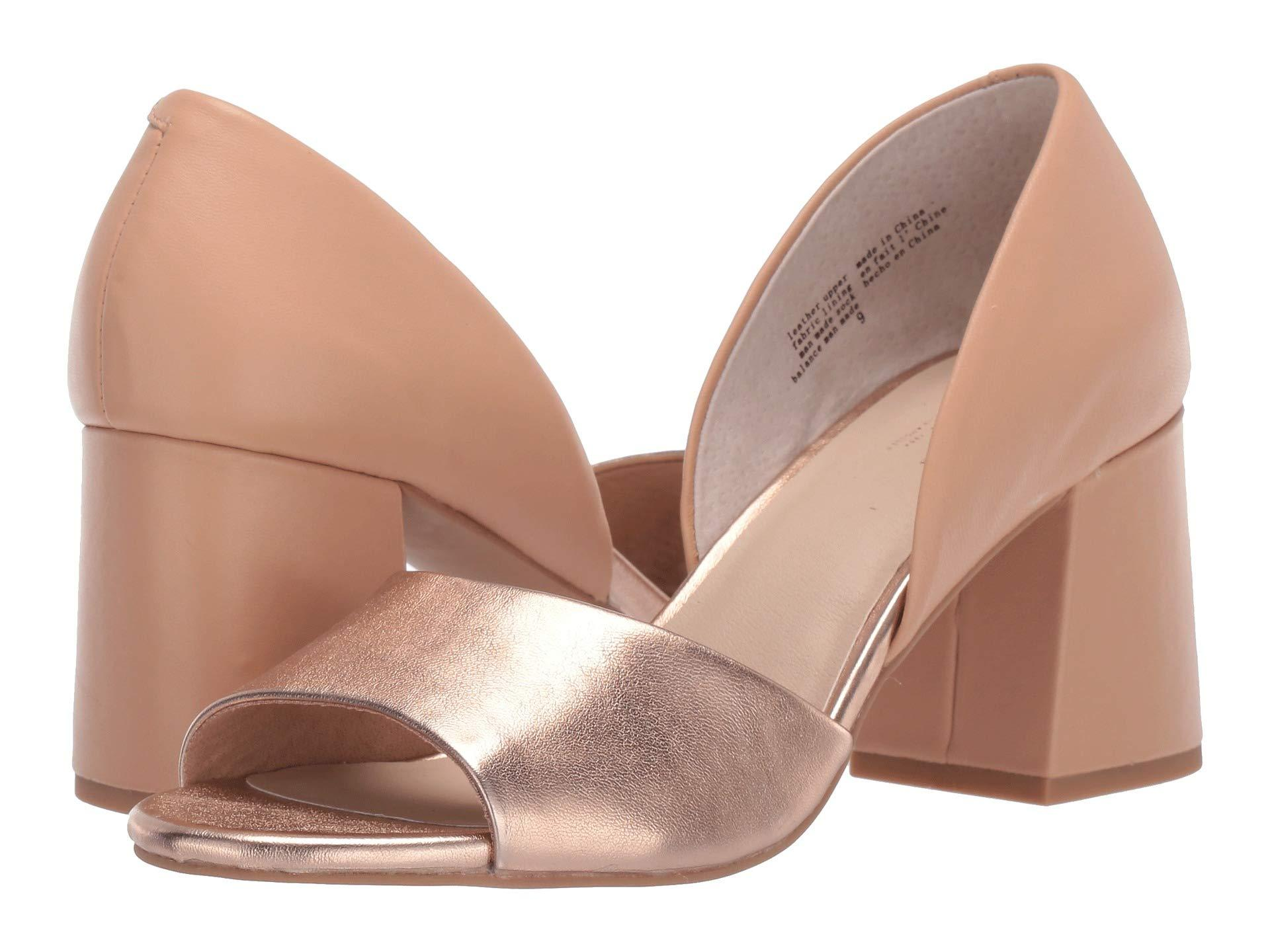 5c542af7b5b Lyst - Seychelles Shabby Chic (rose Gold/nude Leather) High Heels