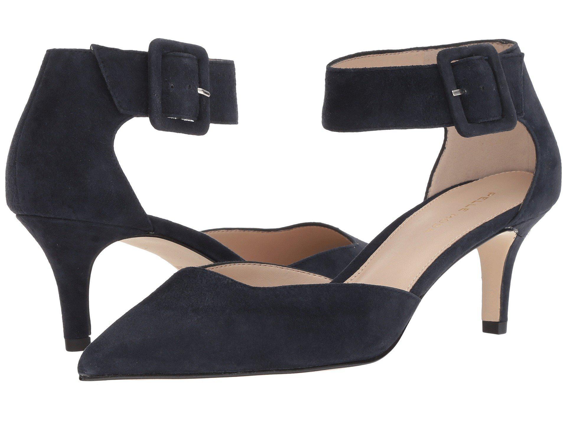 80d658c9cef5 Lyst - Pelle Moda Kenley (black Suede) Women s Shoes