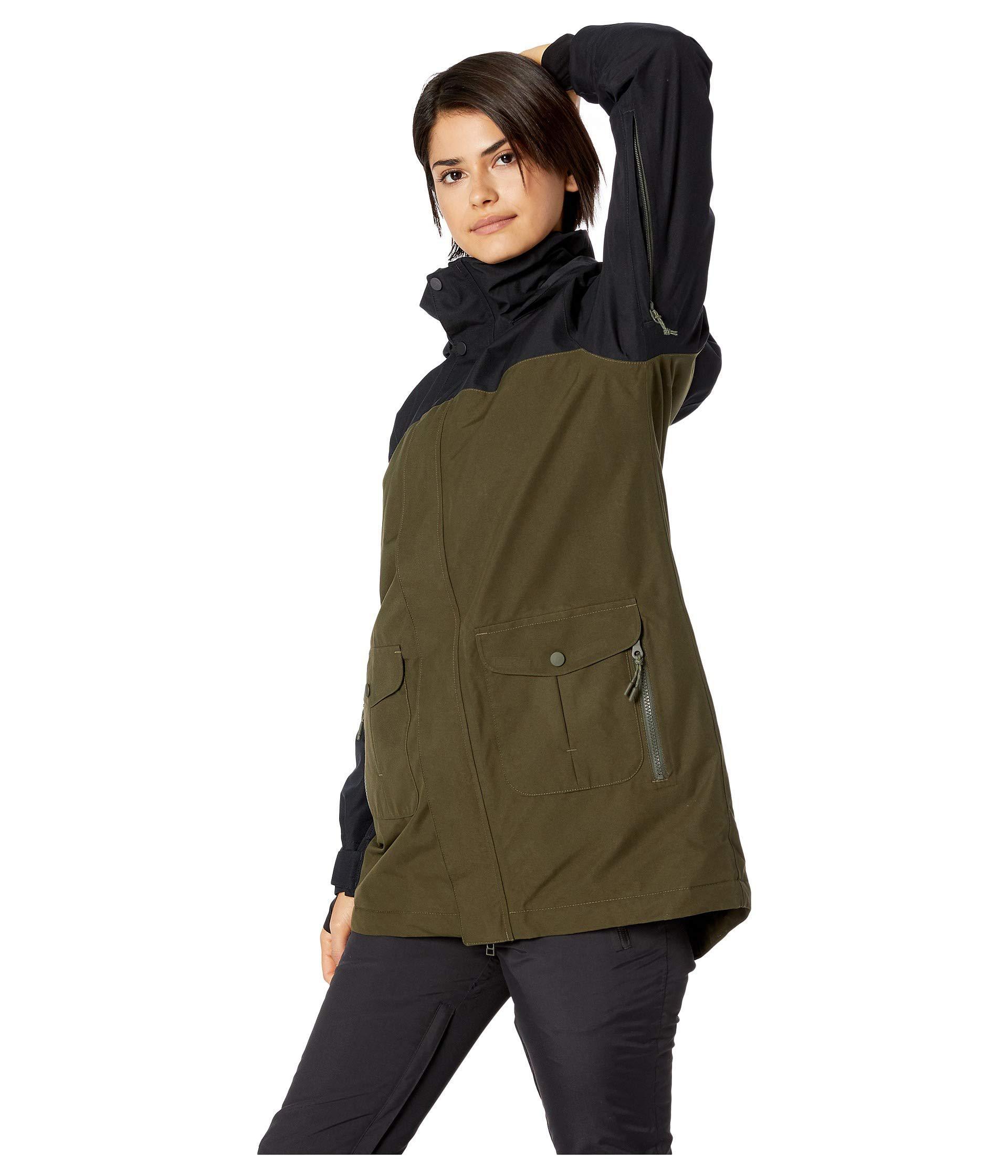466ec64dc03 Lyst - Burton Gore-tex Eyris Jacket (true Black tahoe Freya Weave ...