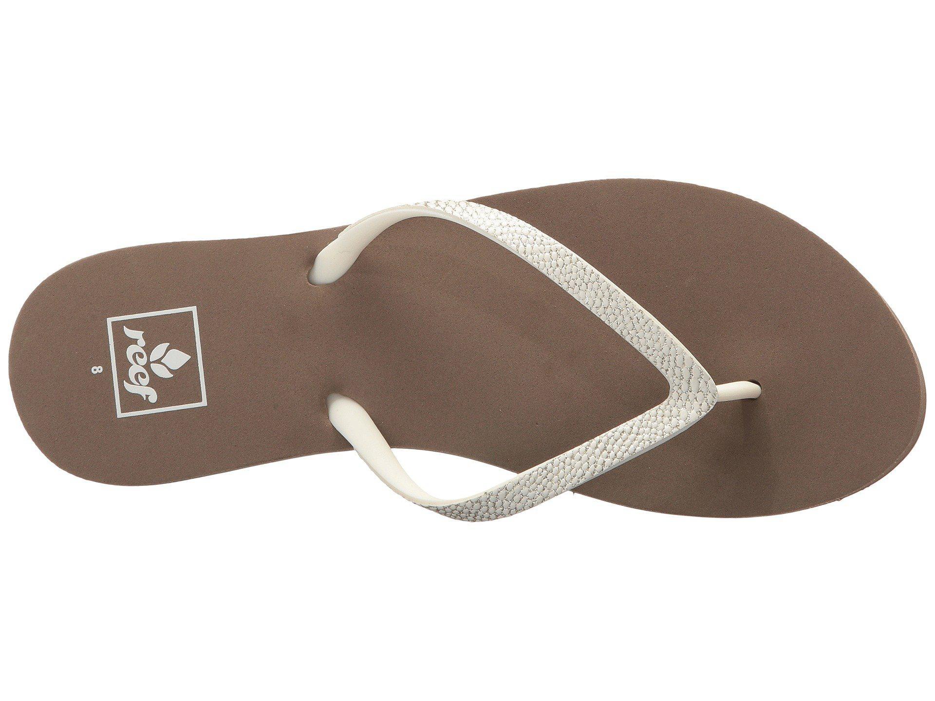 9a107b0c2 Reef - Gray Stargazer Sassy (blush) Women s Sandals - Lyst. View fullscreen