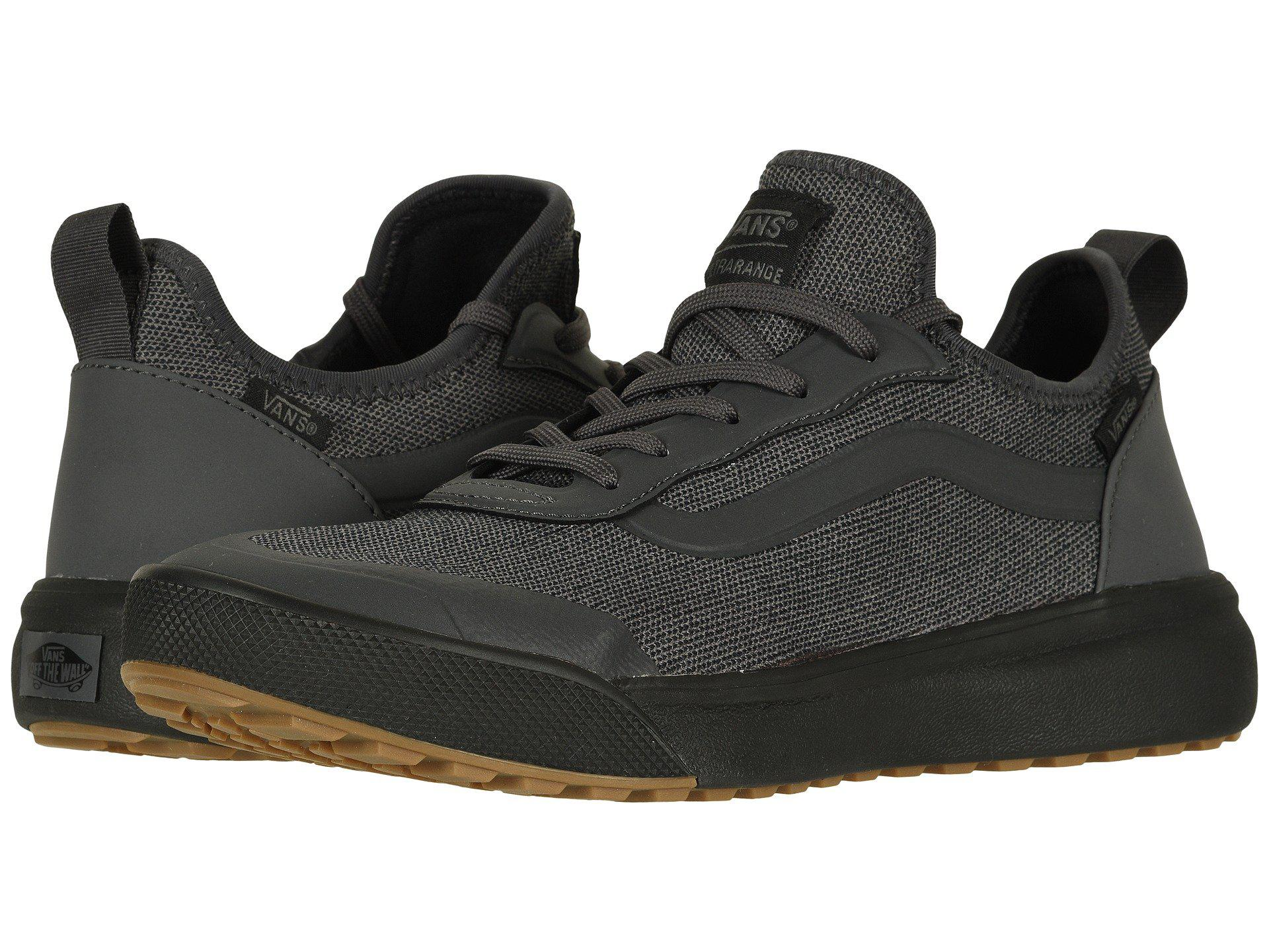 Lyst - Vans Ultrarange Ac ((reptile) Covert Green black) Skate Shoes ... 4cdbbcfc4