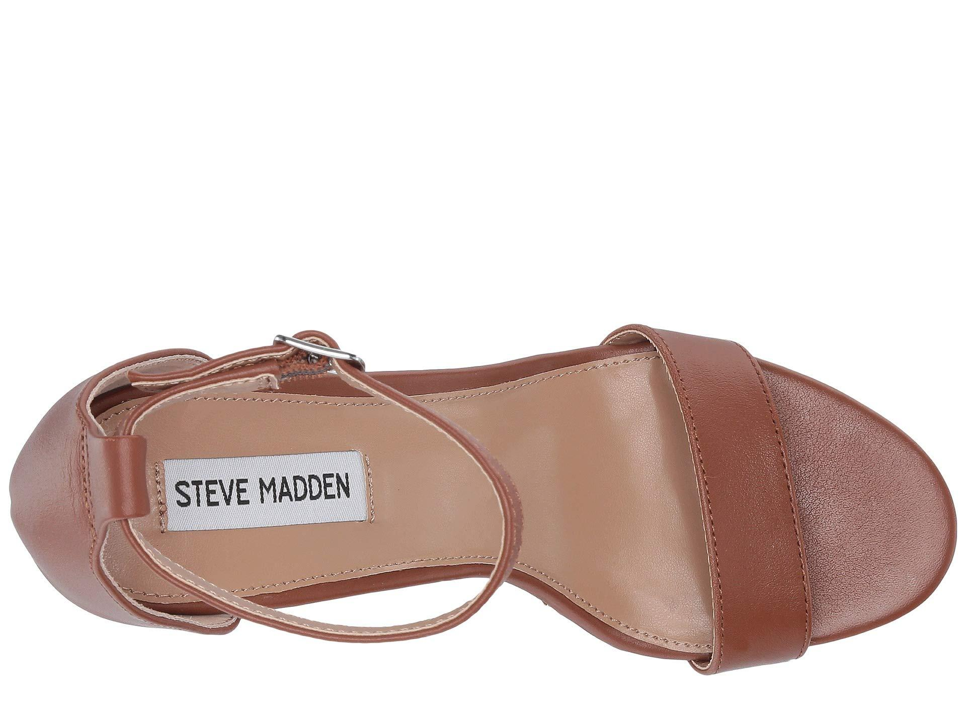 490668a9517b Steve Madden - Brown Mary Wedge Sandal (black Suede) Women s Sandals -  Lyst. View fullscreen