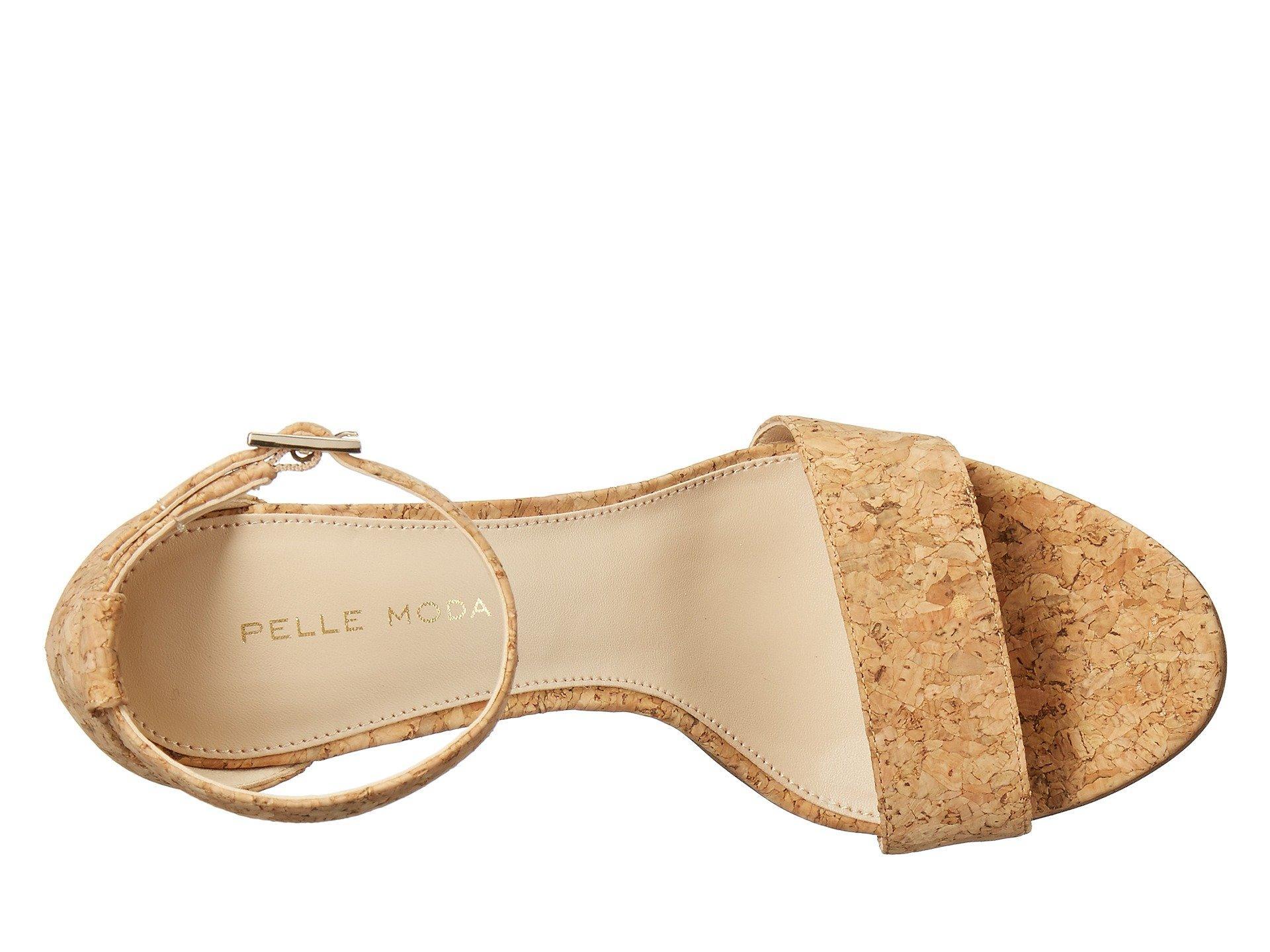 5ae260e9e7e58d Lyst - Pelle Moda Bonnie-sd Dress Sandal in Natural - Save 42%