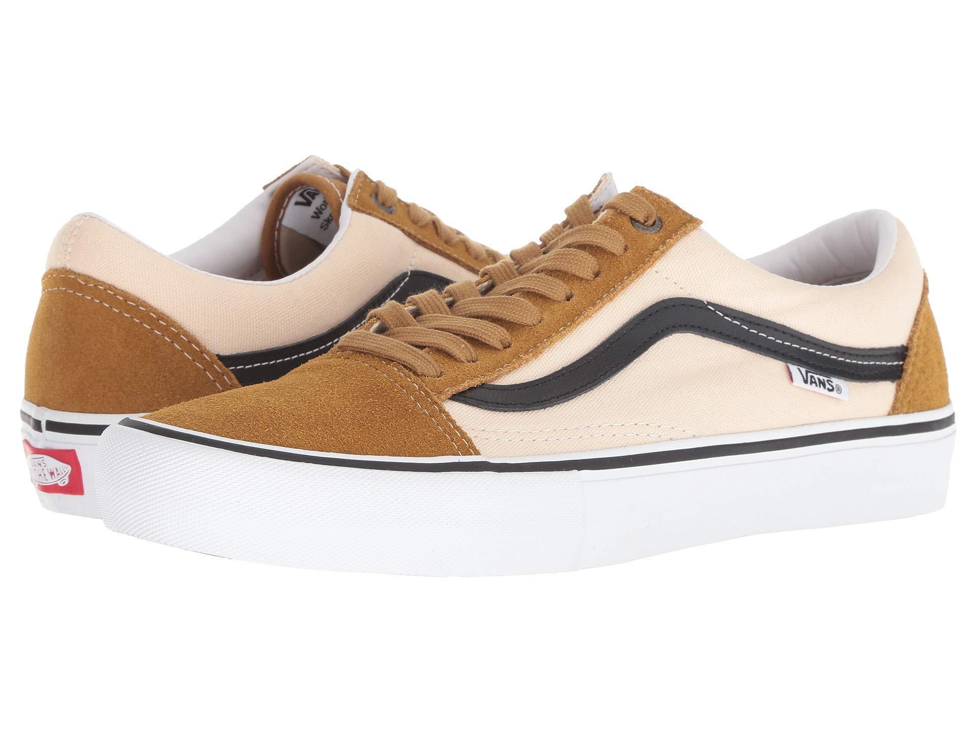 e52792ce2982 Lyst - Vans Old Skool Pro (cumin black) Men s Skate Shoes for Men