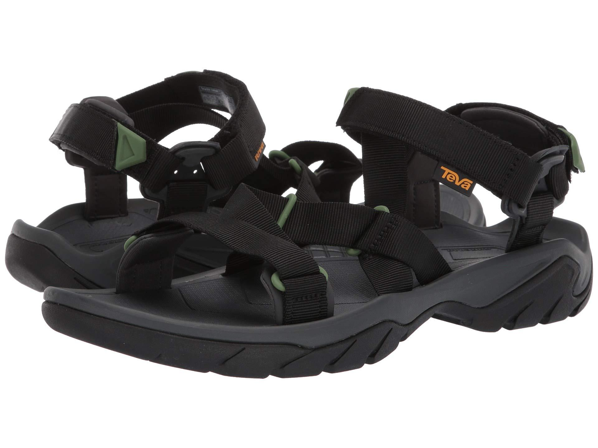 cd2bbce3438b Teva - Black Terra Fi 5 Sport Sandal for Men - Lyst. View fullscreen