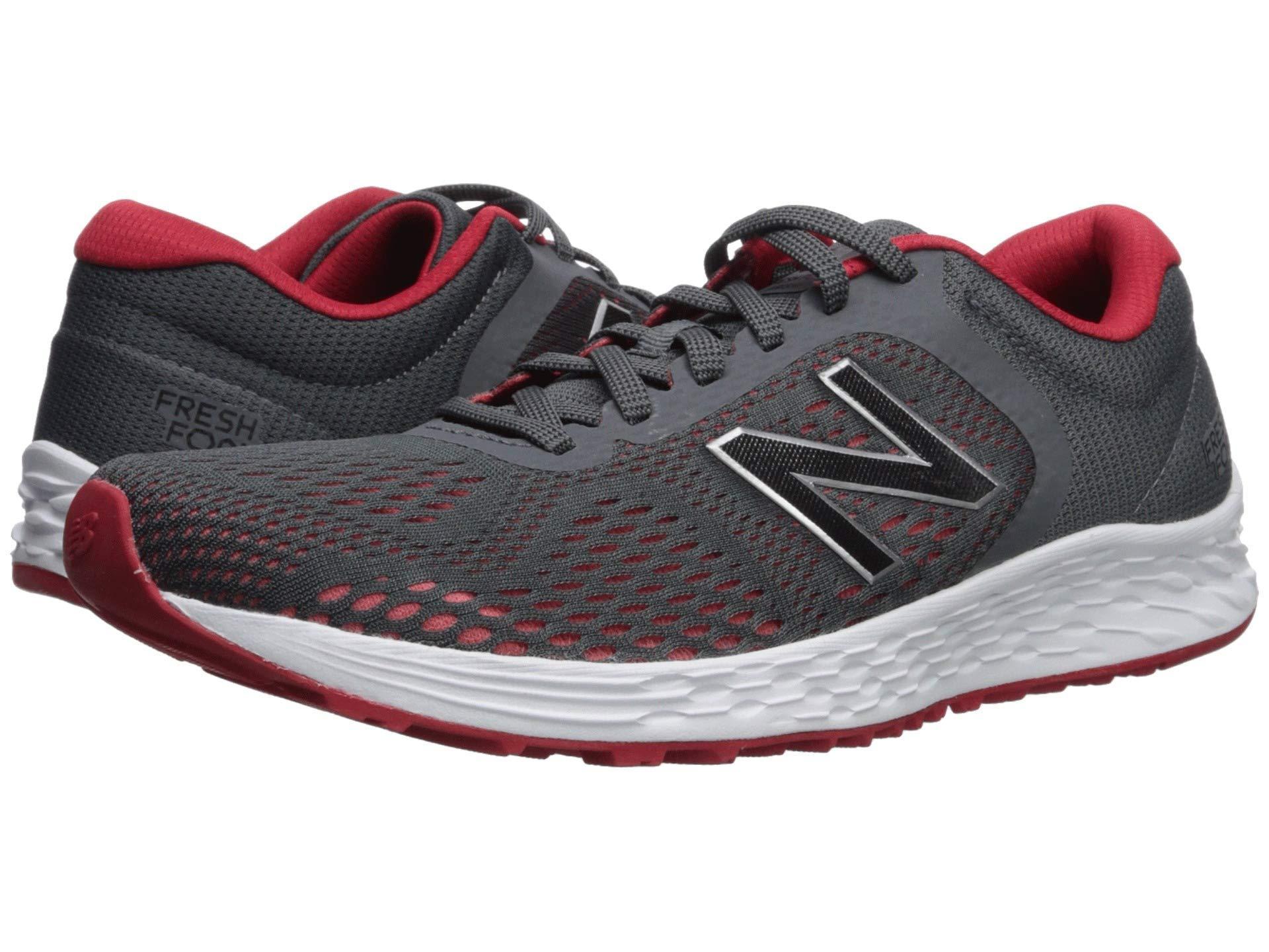 new style 31fa6 4c2fd New Balance. Gray Fresh Foam Arishi V2 (grey energy Red) Men s Running Shoes