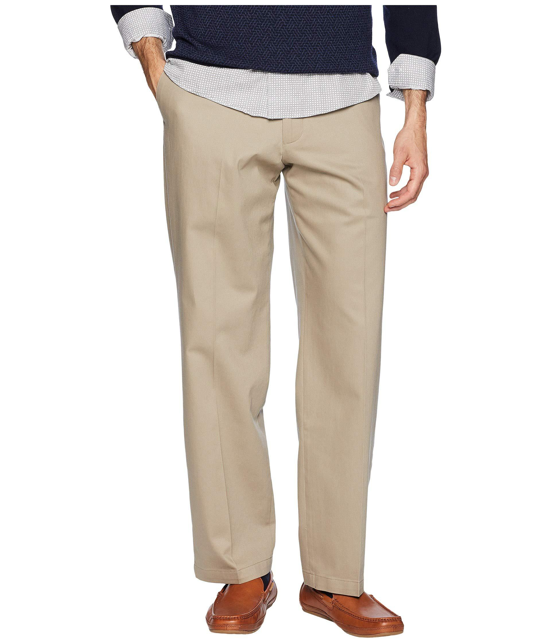 a4a945eb5 Dockers. Natural Relaxed Fit Signature Khaki Lux Cotton Stretch Pants ...