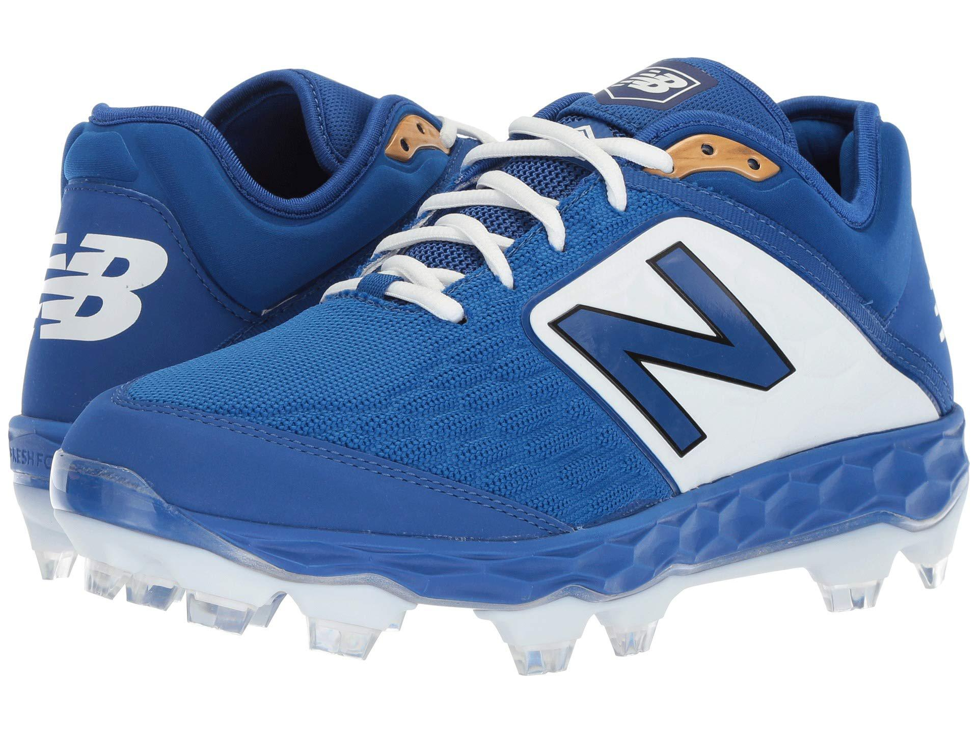 f4dbd5323c46 Lyst - New Balance Pl3000v4 (white/white) Men's Cleated Shoes in ...