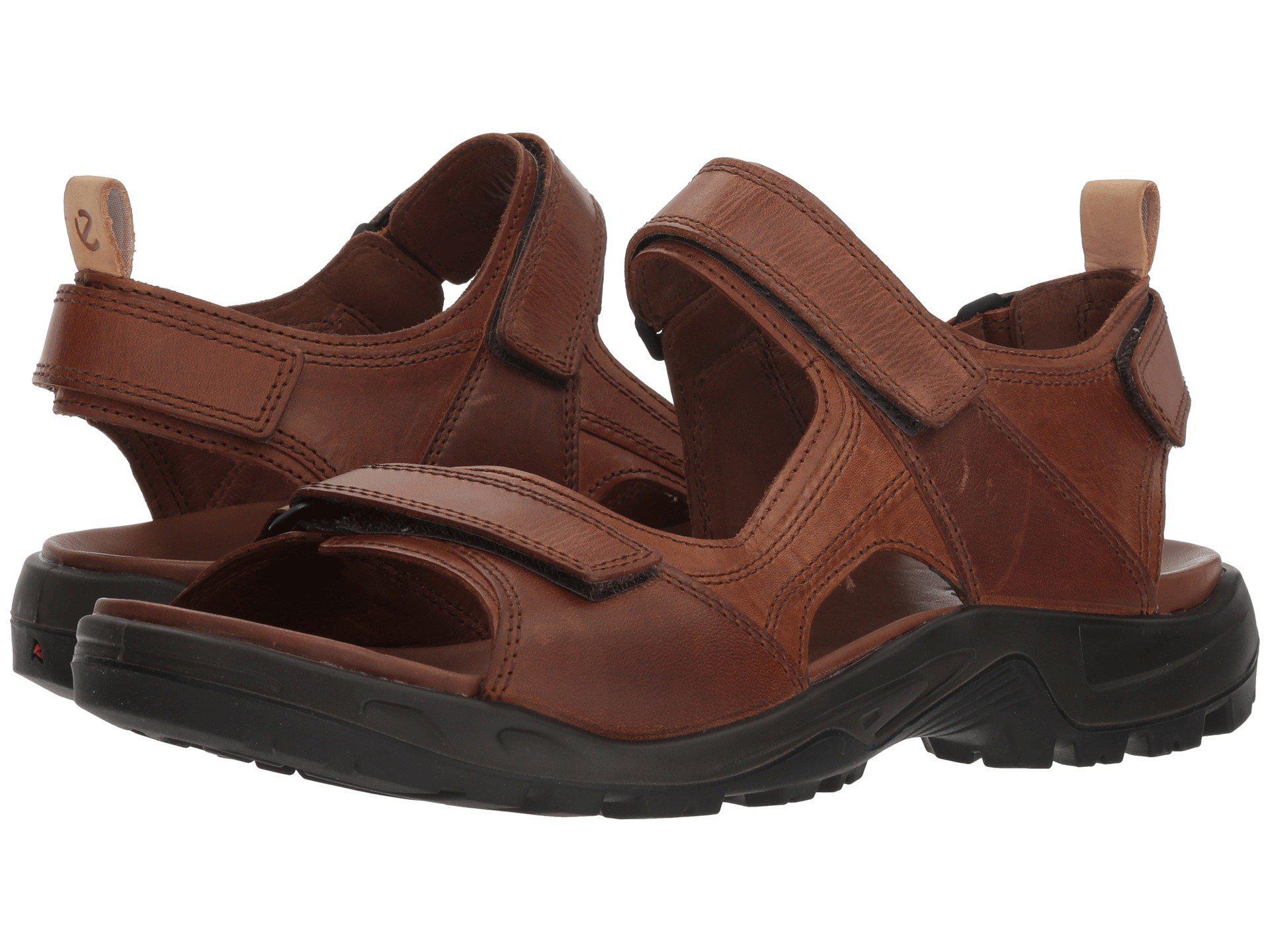 531cfa844ff Ecco Offroad 2.0 Sandal (black/powder) Men's Sandals in Brown for ...