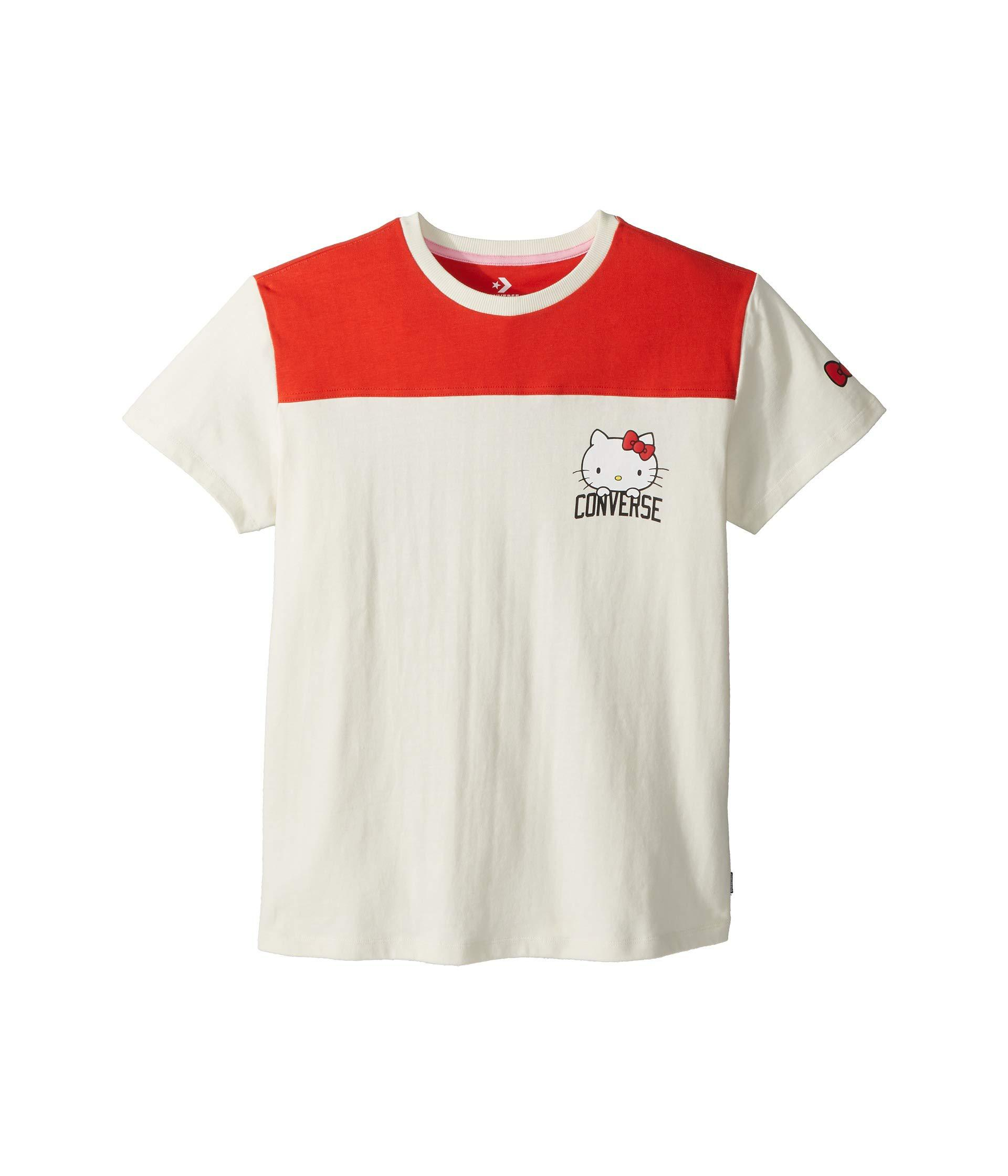 8573908f Converse - Multicolor X Hello Kitty Football T-shirt - Lyst. View fullscreen