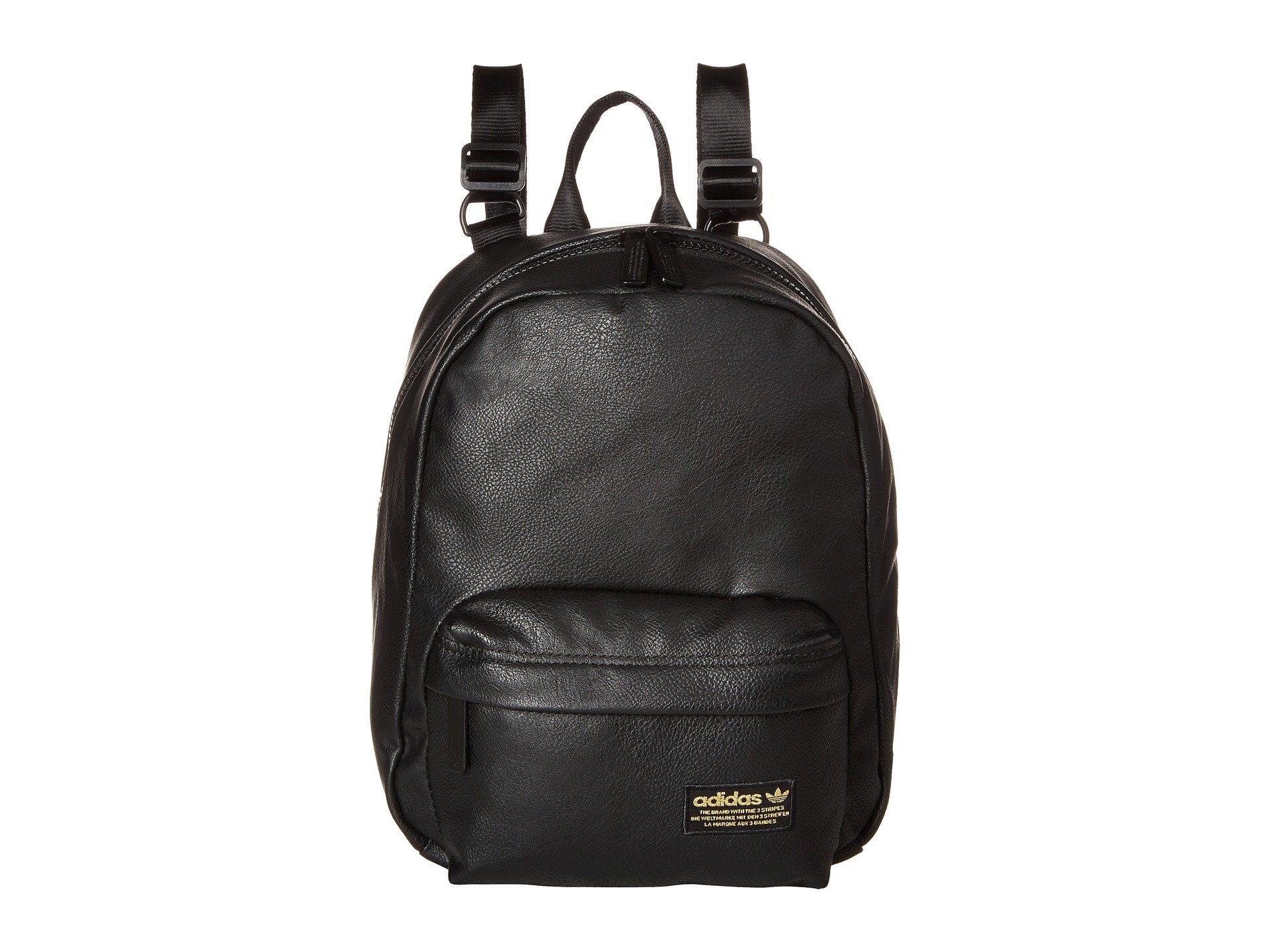 3cfd7b5d48a3 Lyst - adidas Originals National Compact Premium Backpack (black Pu ...