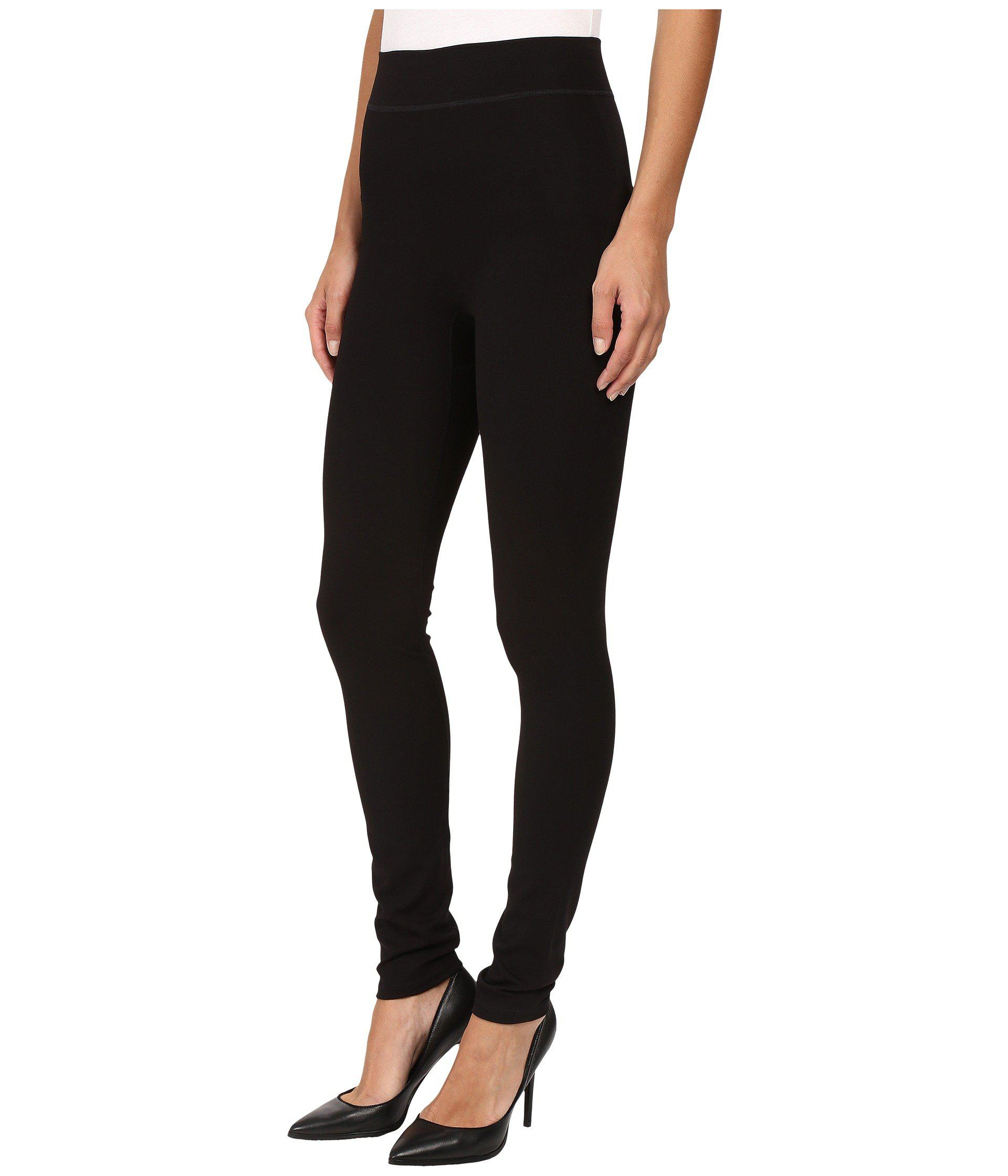 dc709f0b547d6 Lyst - Hue Double Knit Shaping Leggings (black) Women s Casual Pants in  Black - Save 29.16666666666667%