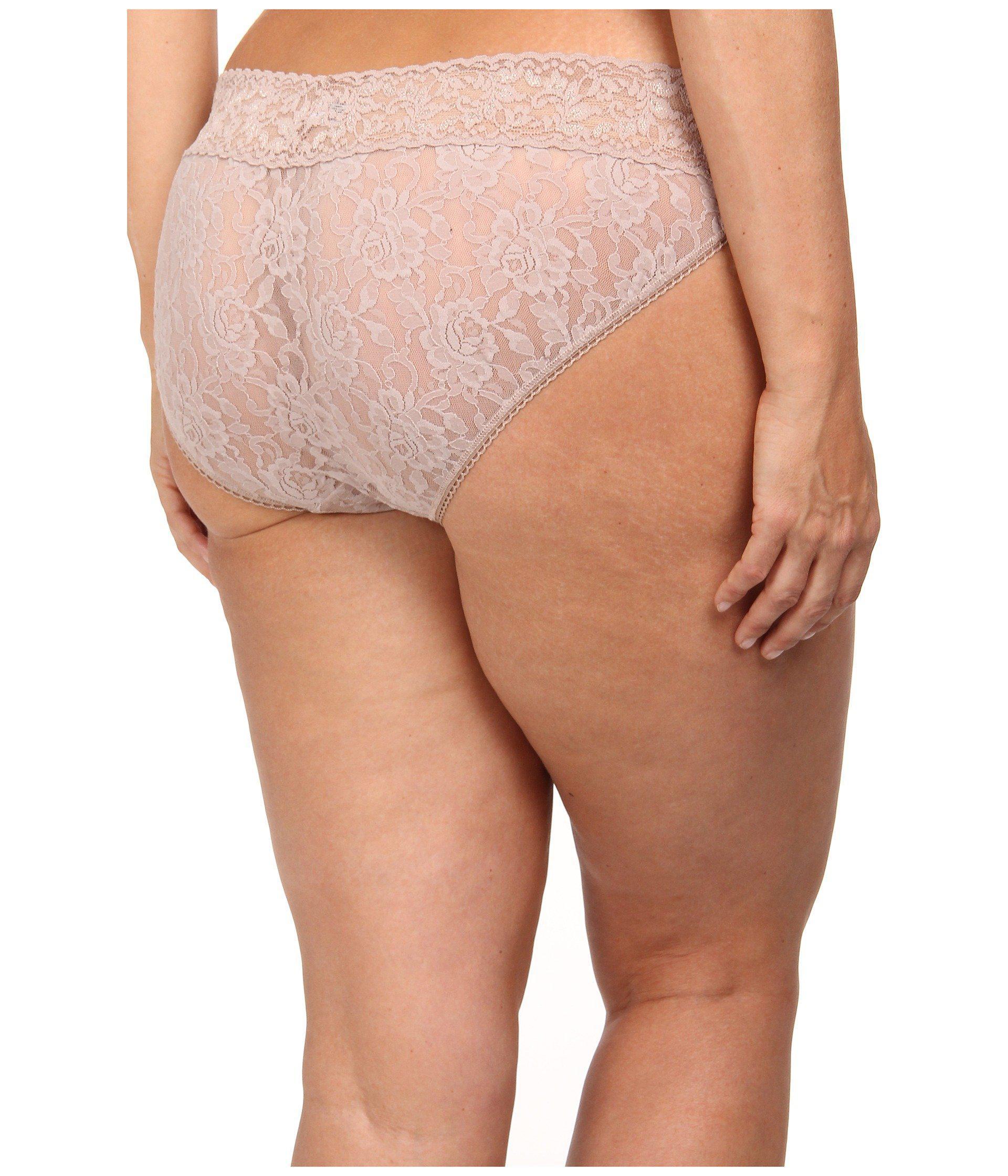 6ad0a05a7340 Lyst - Hanky Panky Plus Size Signature Lace V-kini (chai) Women's ...