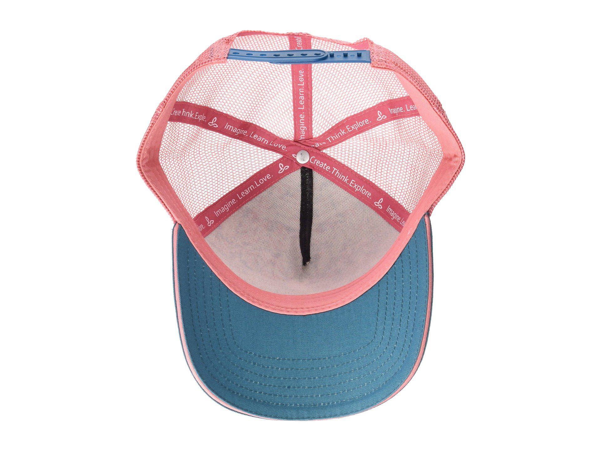 a5a0850b9f9 Lyst - Prana La Viva Trucker Hat (carmine Desert Geo) Caps