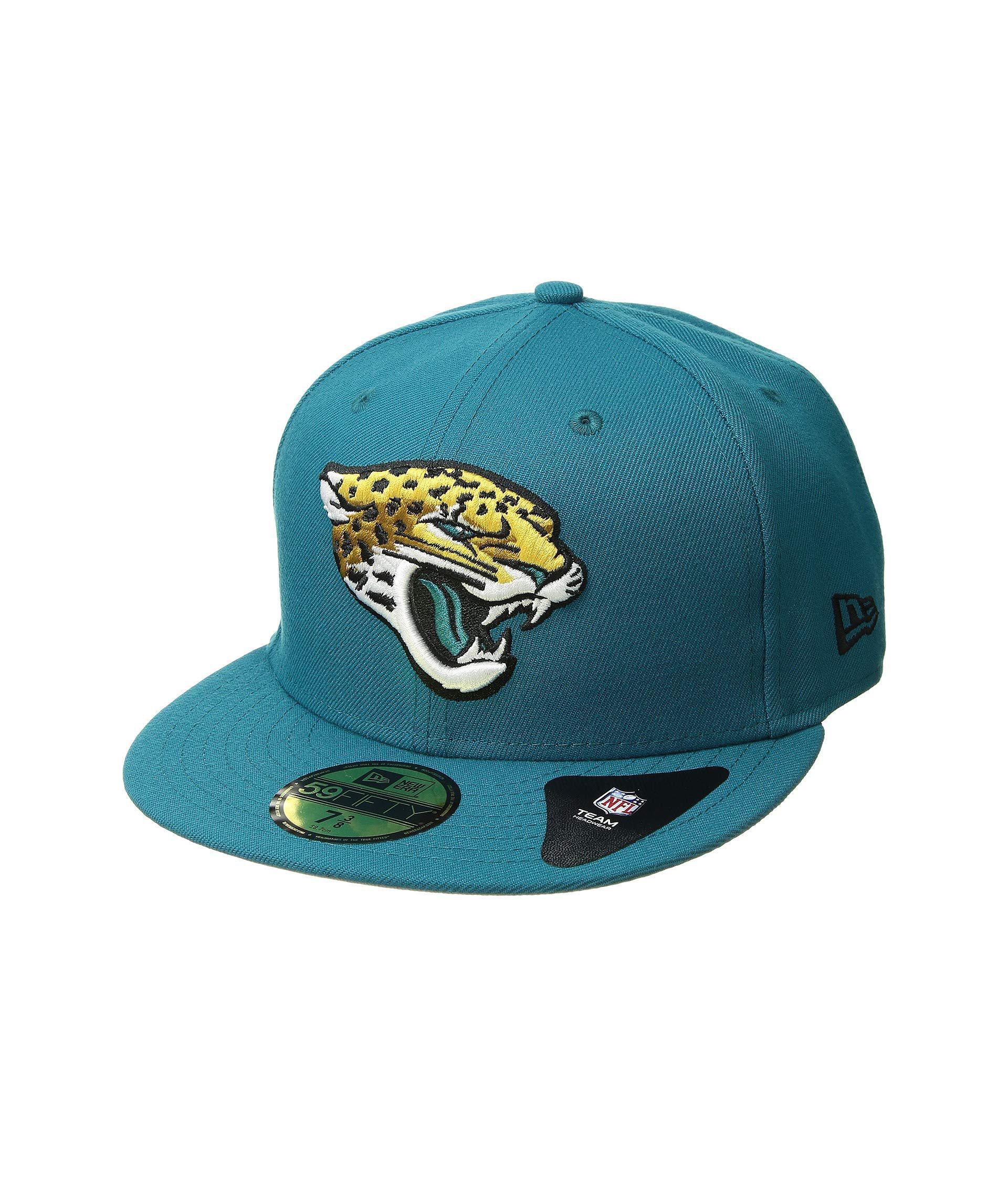 Lyst - KTZ 5950 Nfl Basic Jacksonville Jaguars (team Color) Baseball ... e87cbdd18