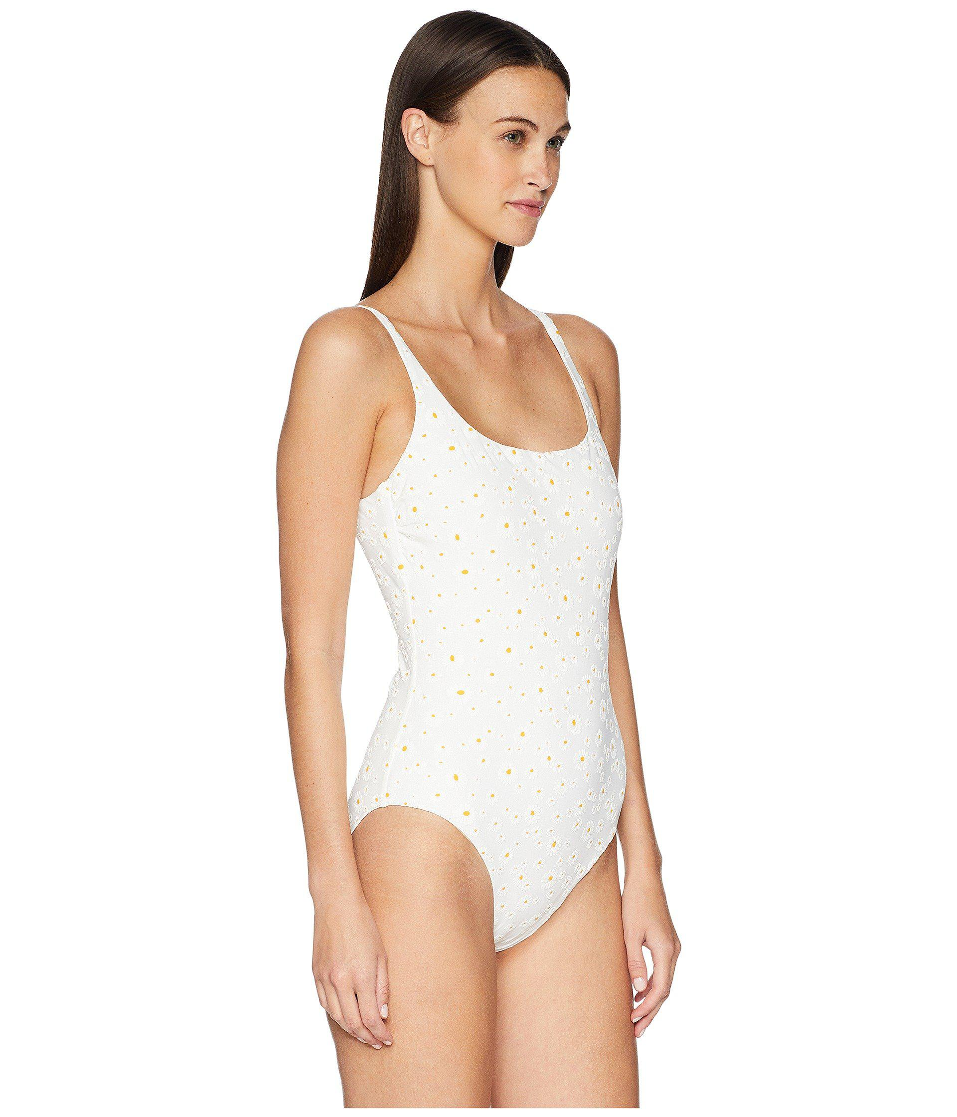 33341601f2e0c Tory Burch Daisy Tank-suit One-piece (ivory Daisy) Women's Swimsuits ...
