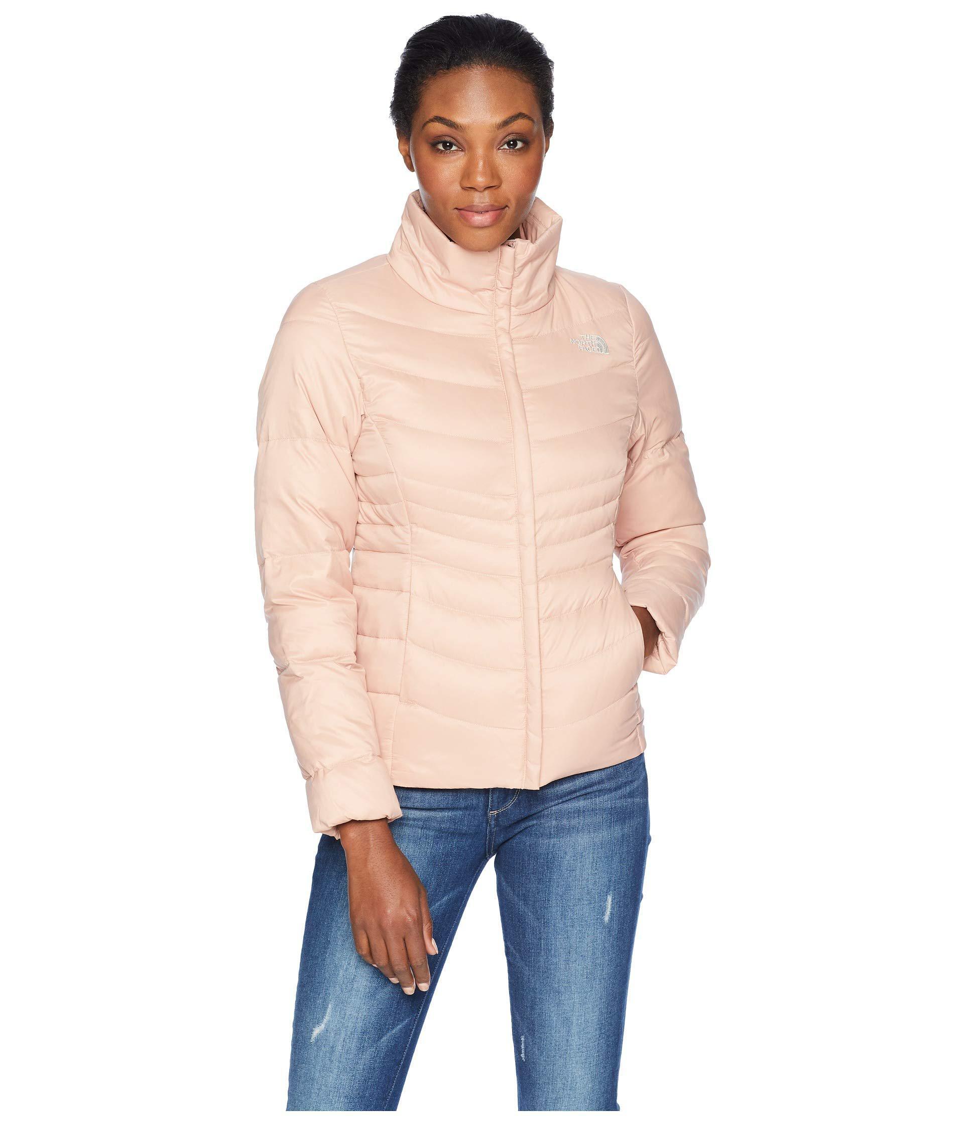 3744094cf0 Lyst - The North Face Aconcagua Jacket Ii (shiny Mid Grey) Women s Coat