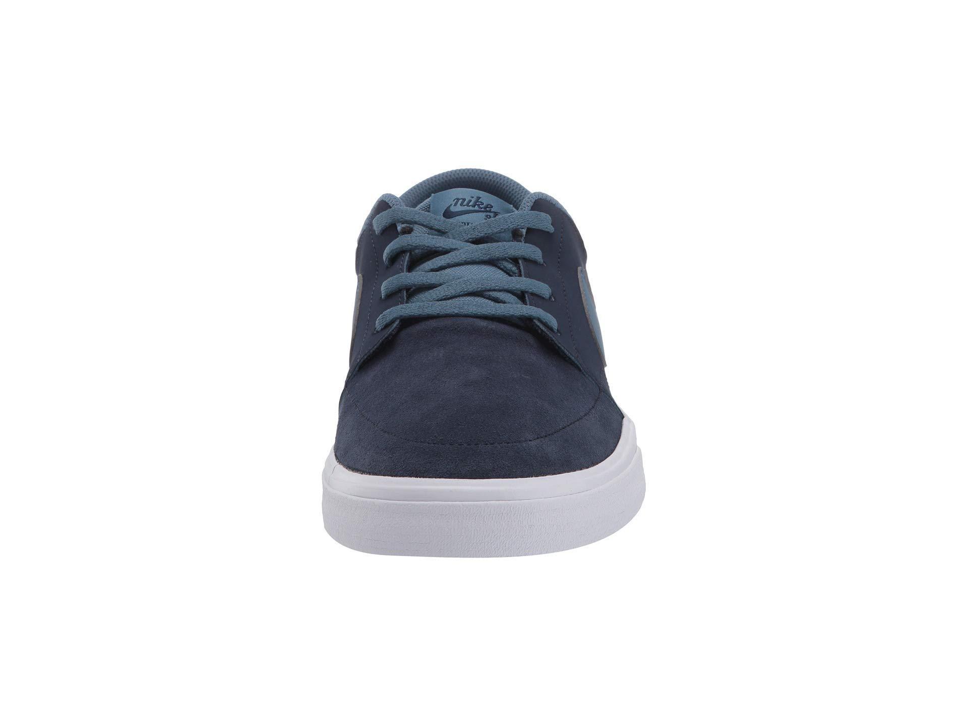 b03c03e67fa Nike - Portmore Ii Solar - Suede (gunsmoke black white white). View  fullscreen