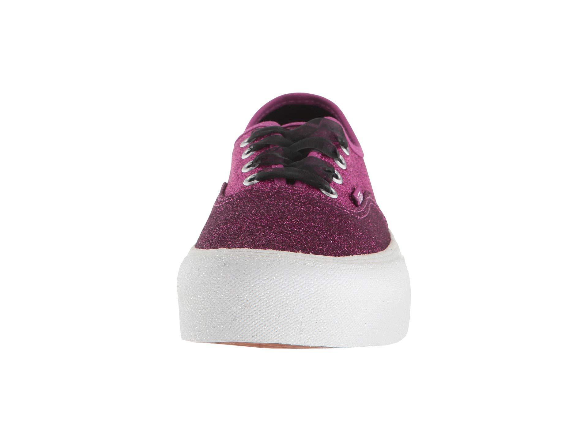d9f647f1eab Vans - Purple Authentic Platform 2.0 ((leather) Snake black) Skate Shoes.  View fullscreen