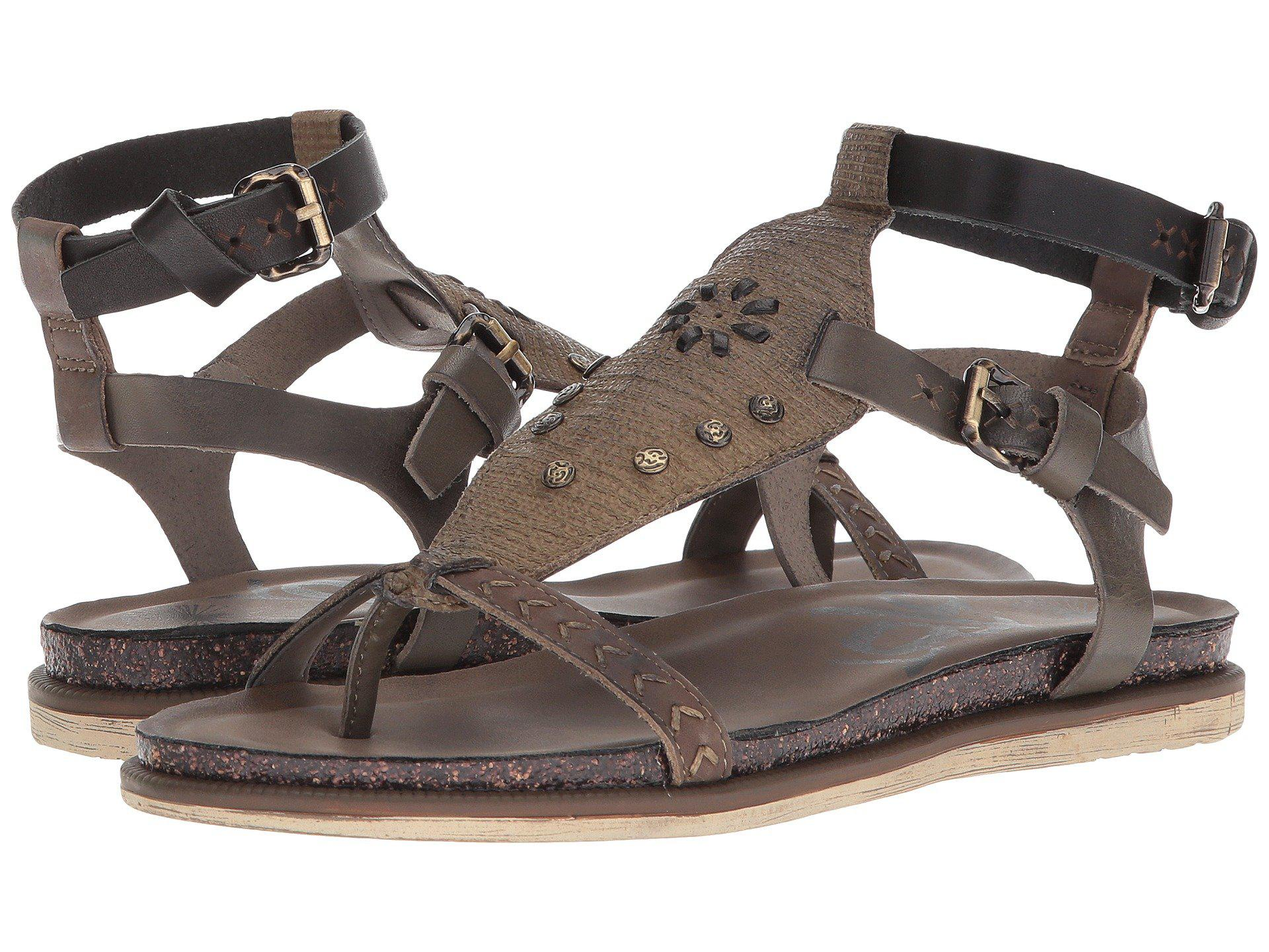 e13f347b4 Lyst - Otbt Stargaze (black) Women s Sandals