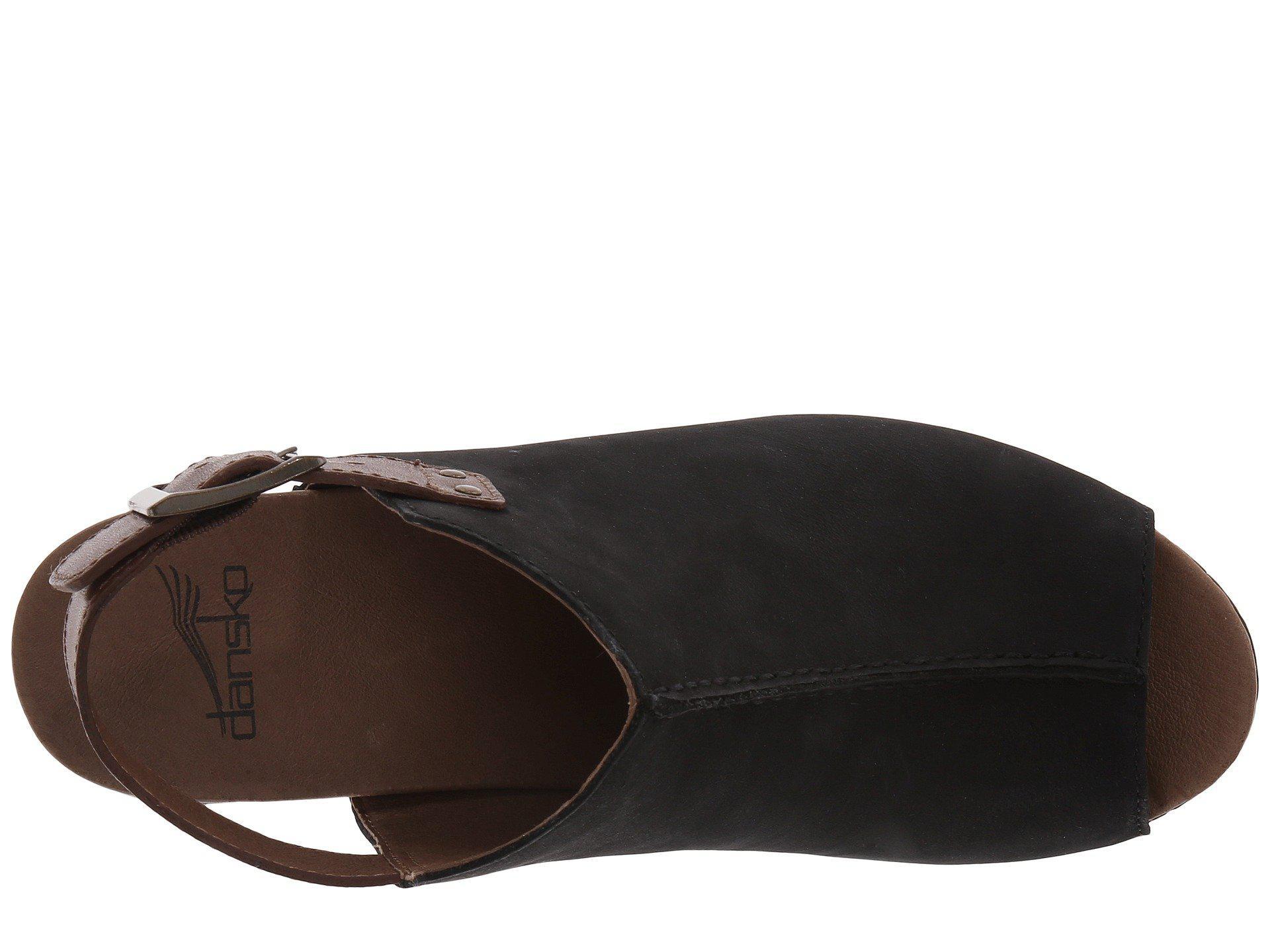 7635252b3fb Dansko - Black Reggie (taupe Milled Nubuck) High Heels - Lyst. View  fullscreen
